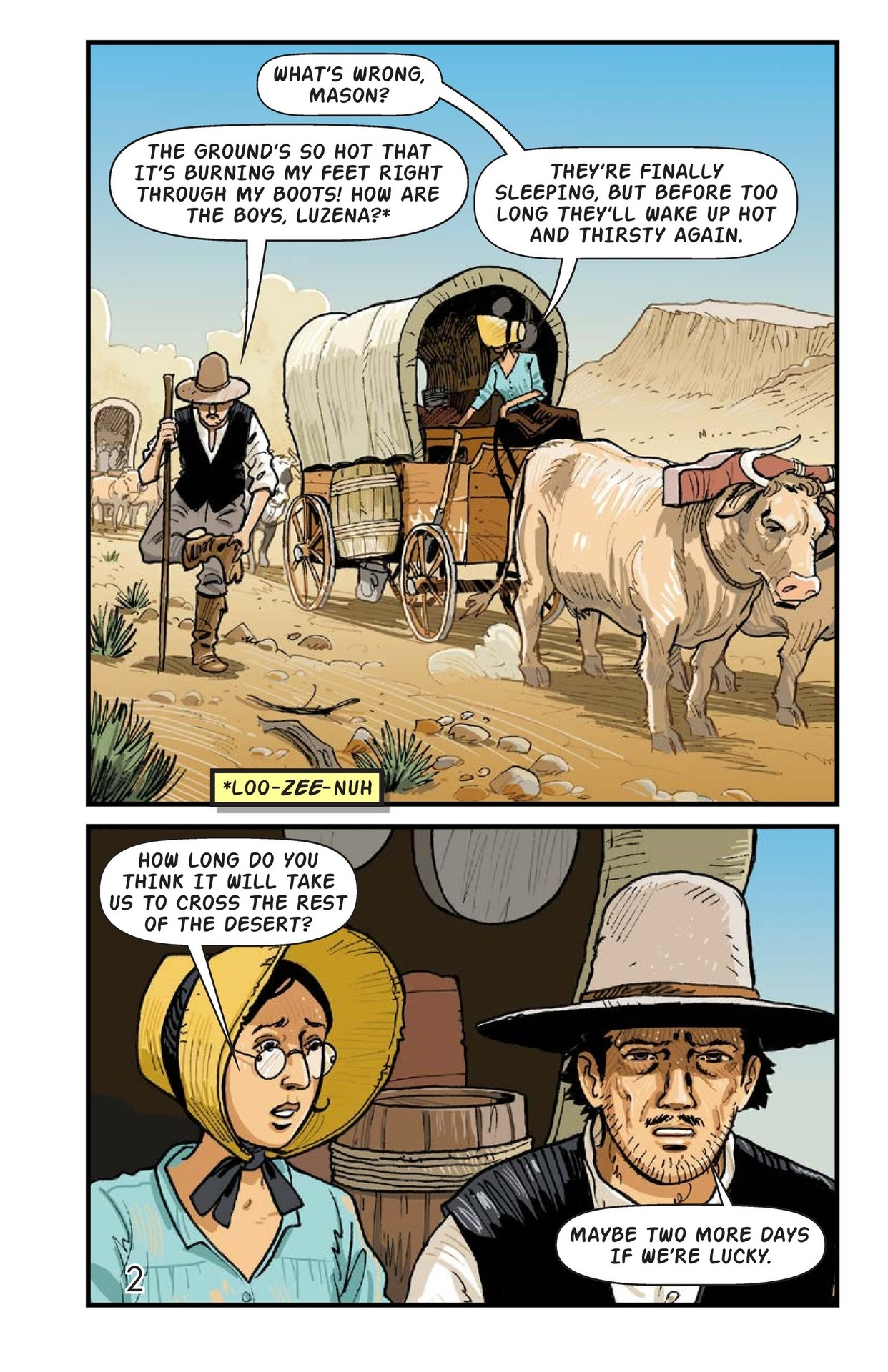 Book Preview For A Gold Rush Adventure Page 3