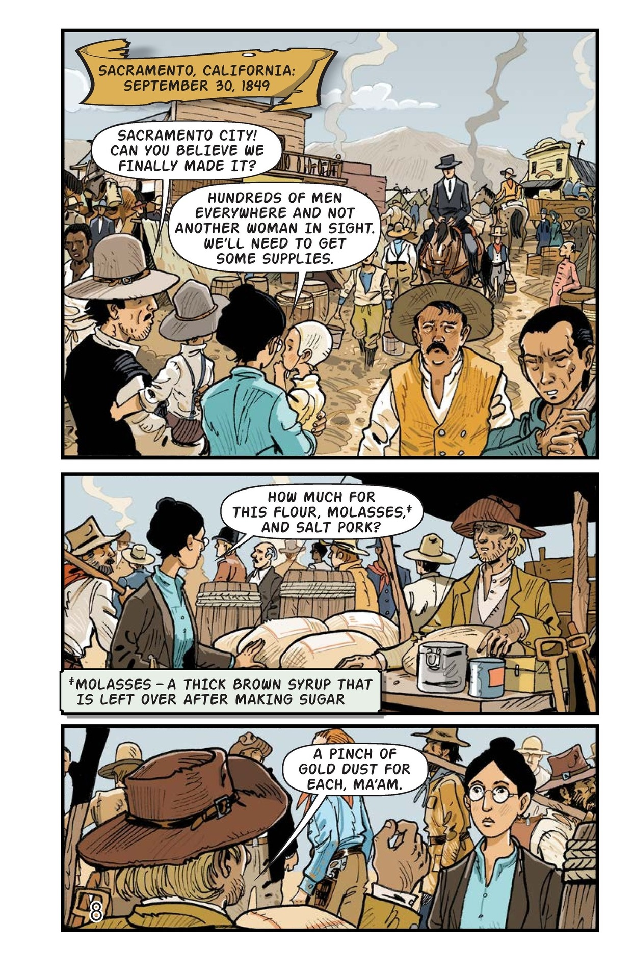 Book Preview For A Gold Rush Adventure Page 9