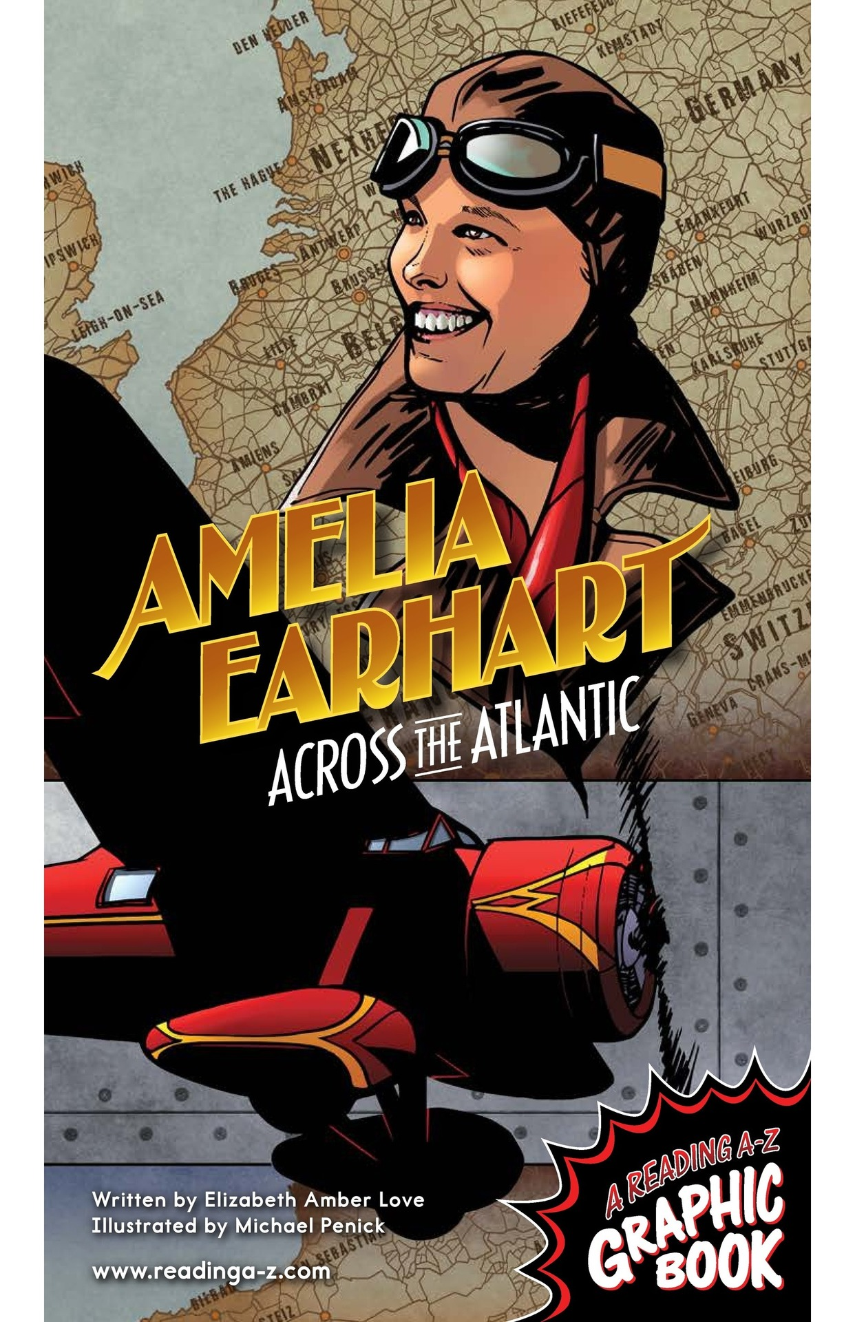 Book Preview For Amelia Earhart Across the Atlantic Page 1