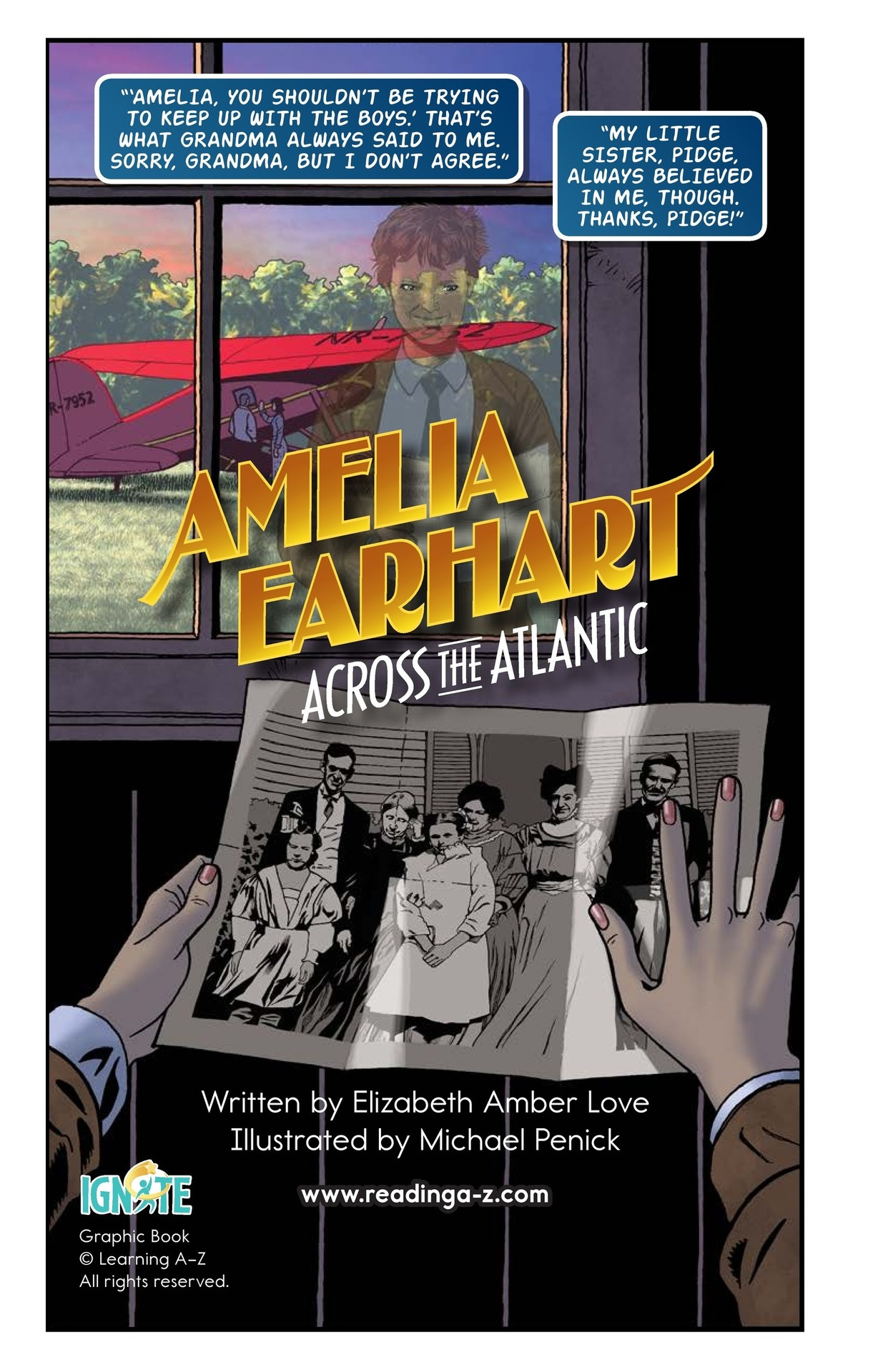 Book Preview For Amelia Earhart Across the Atlantic Page 2