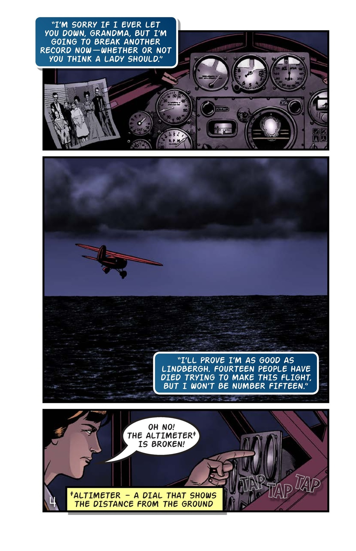 Book Preview For Amelia Earhart Across the Atlantic Page 5