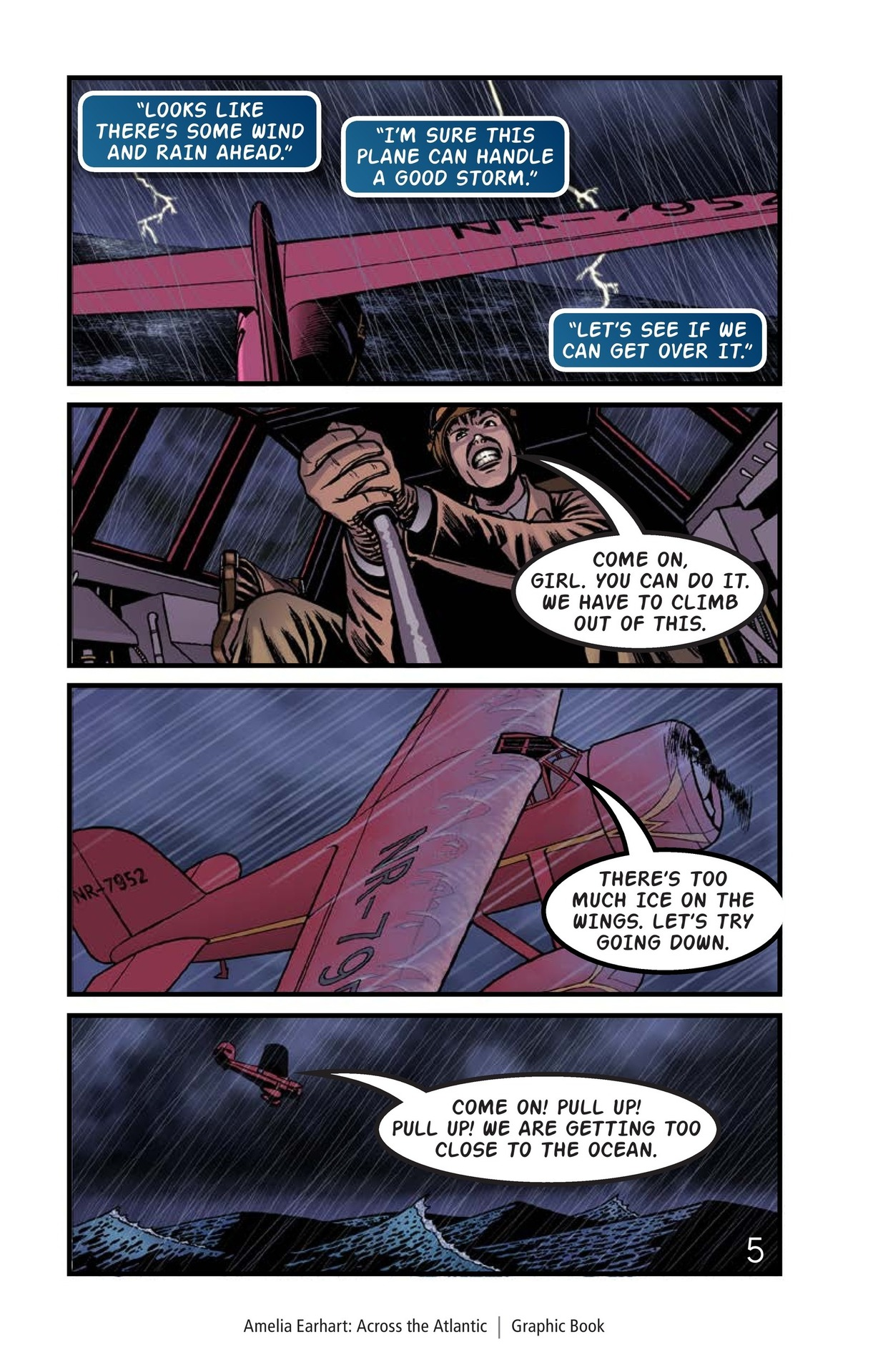 Book Preview For Amelia Earhart Across the Atlantic Page 6