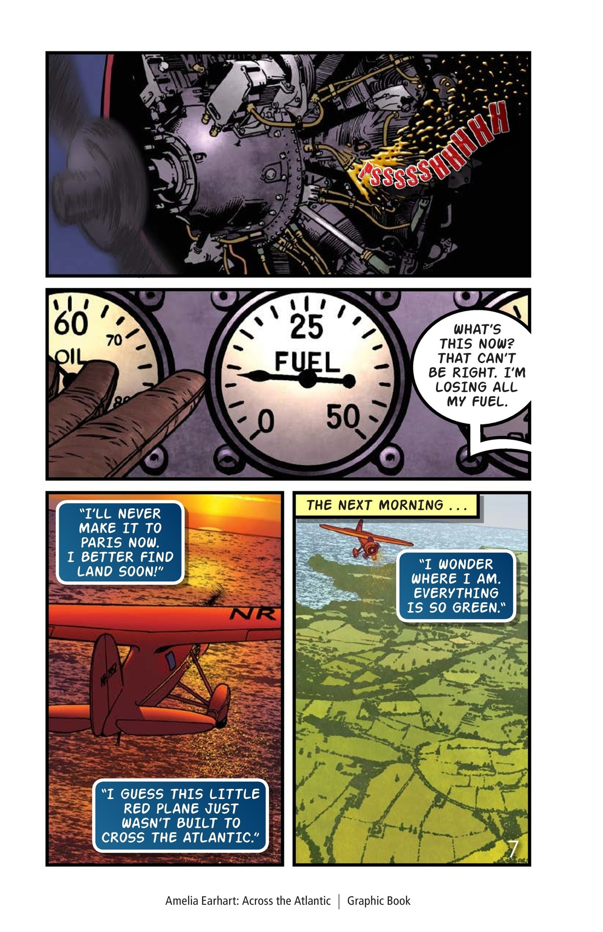 Book Preview For Amelia Earhart Across the Atlantic Page 8