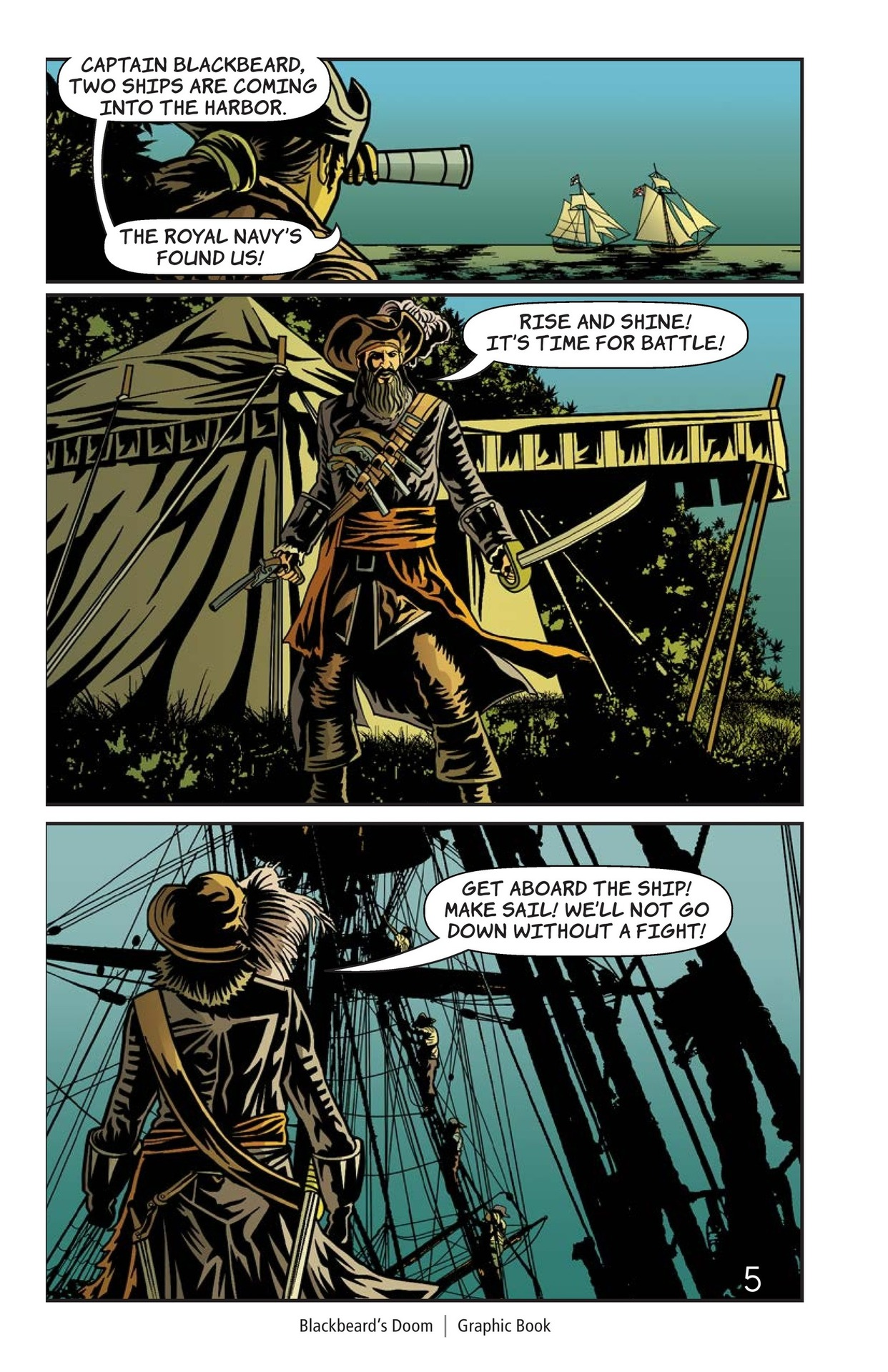 Book Preview For Blackbeard's Doom Page 6