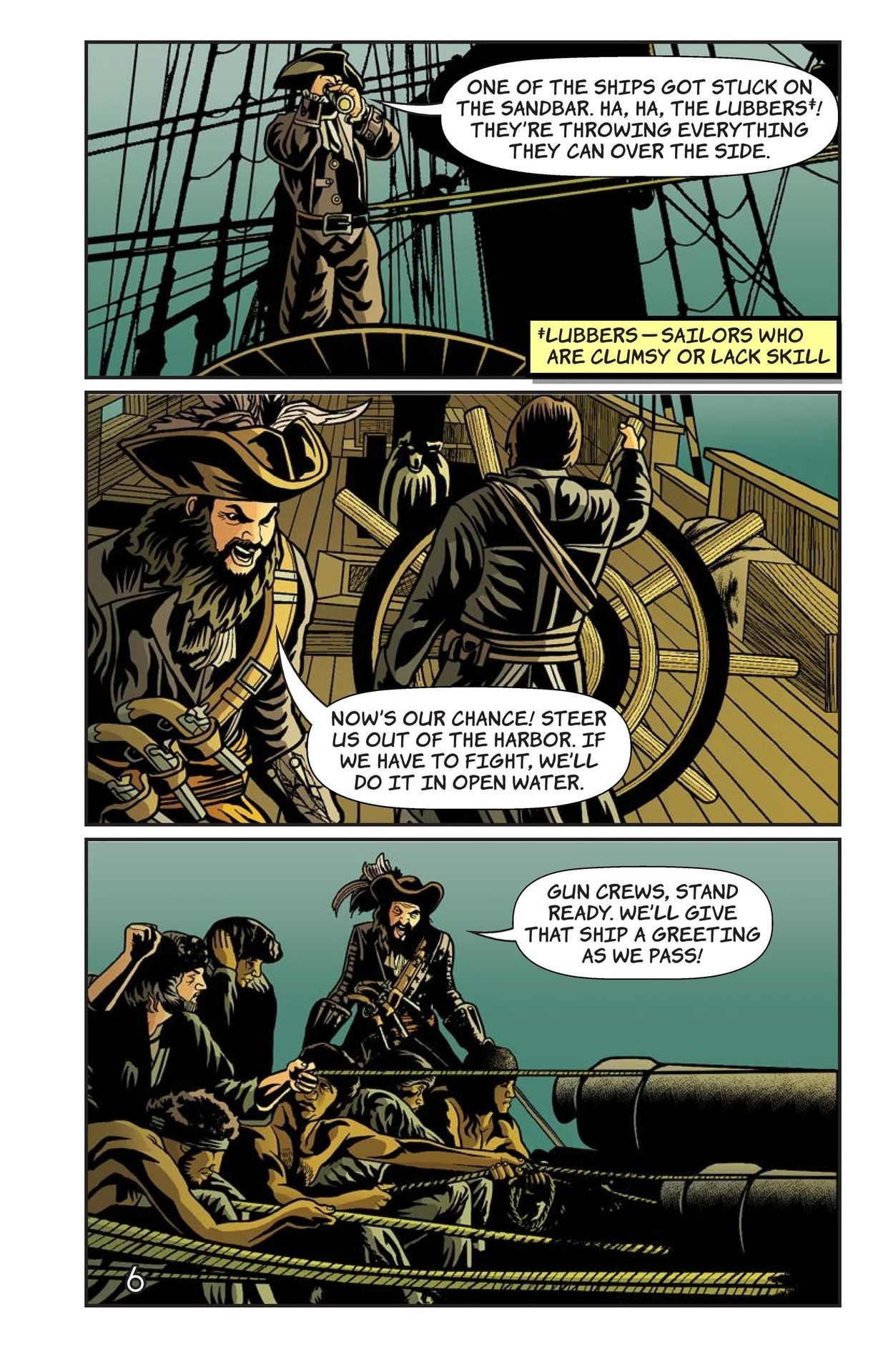 Book Preview For Blackbeard's Doom Page 7