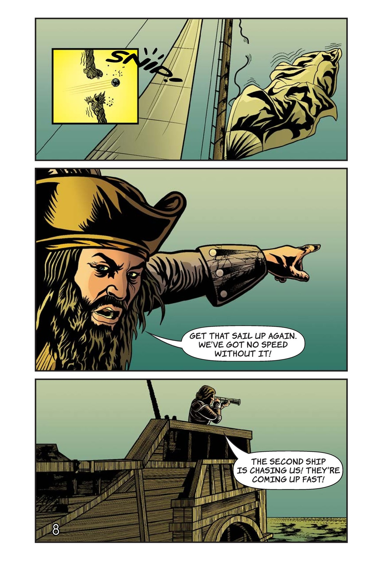 Book Preview For Blackbeard's Doom Page 9