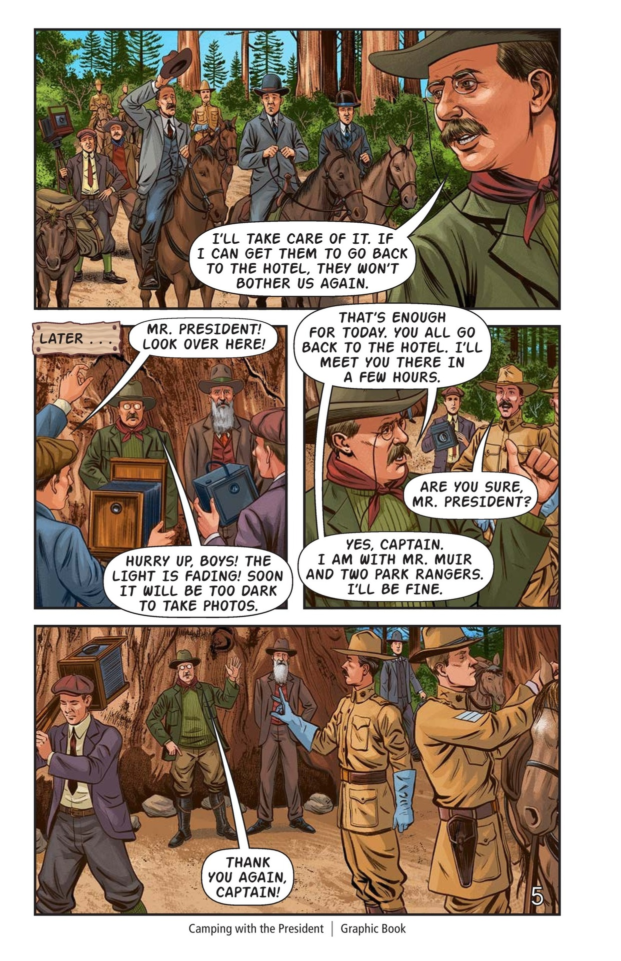 Book Preview For Camping with the President Page 6