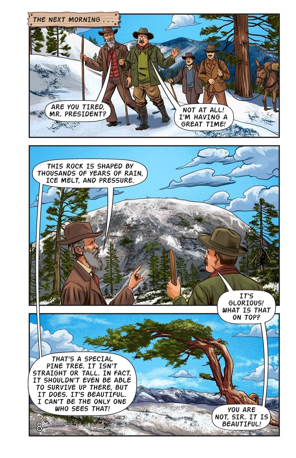 Book Preview For Camping with the President Page 9