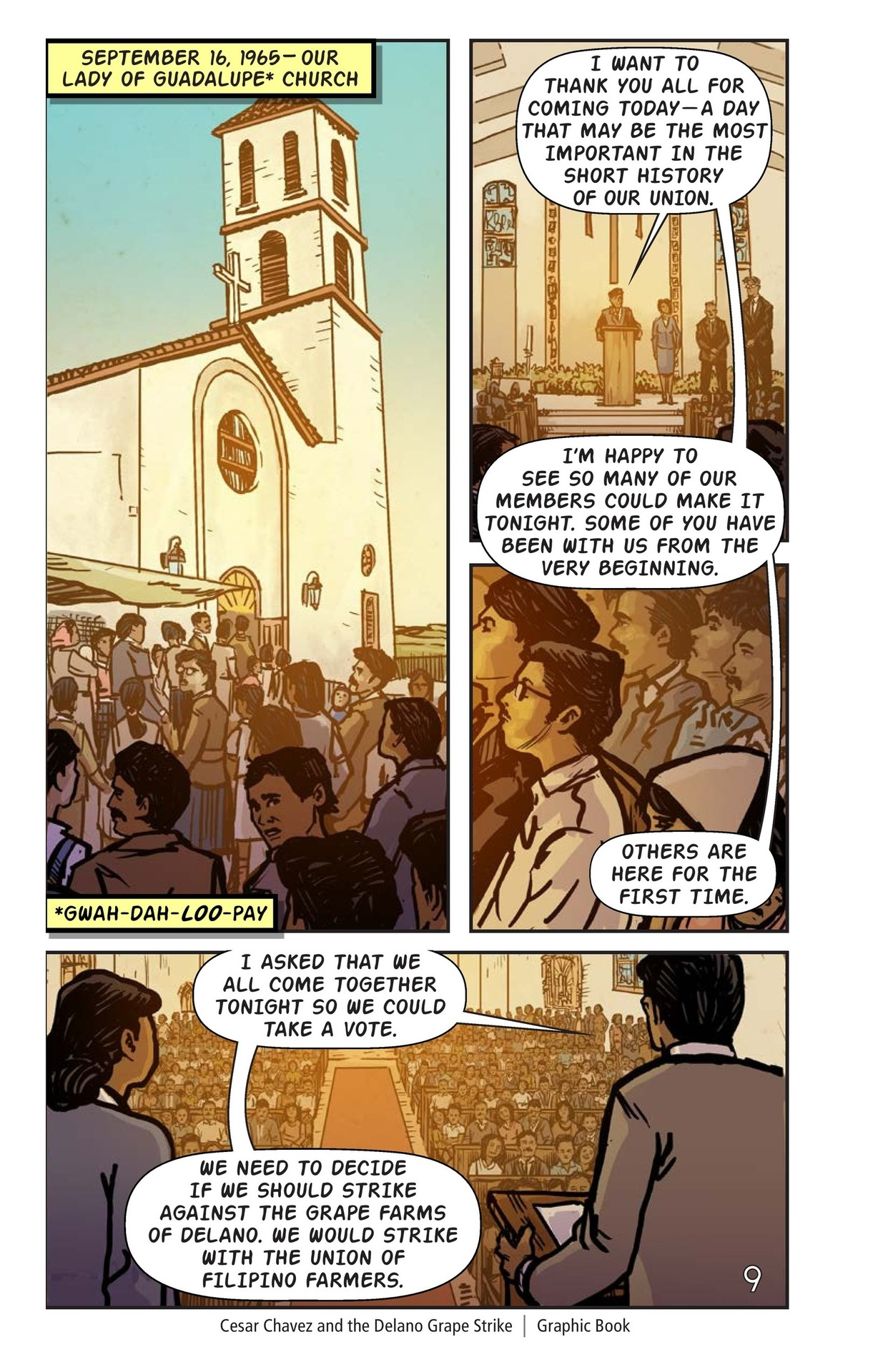 Book Preview For Cesar Chavez and the Delano Grape Strike Page 10