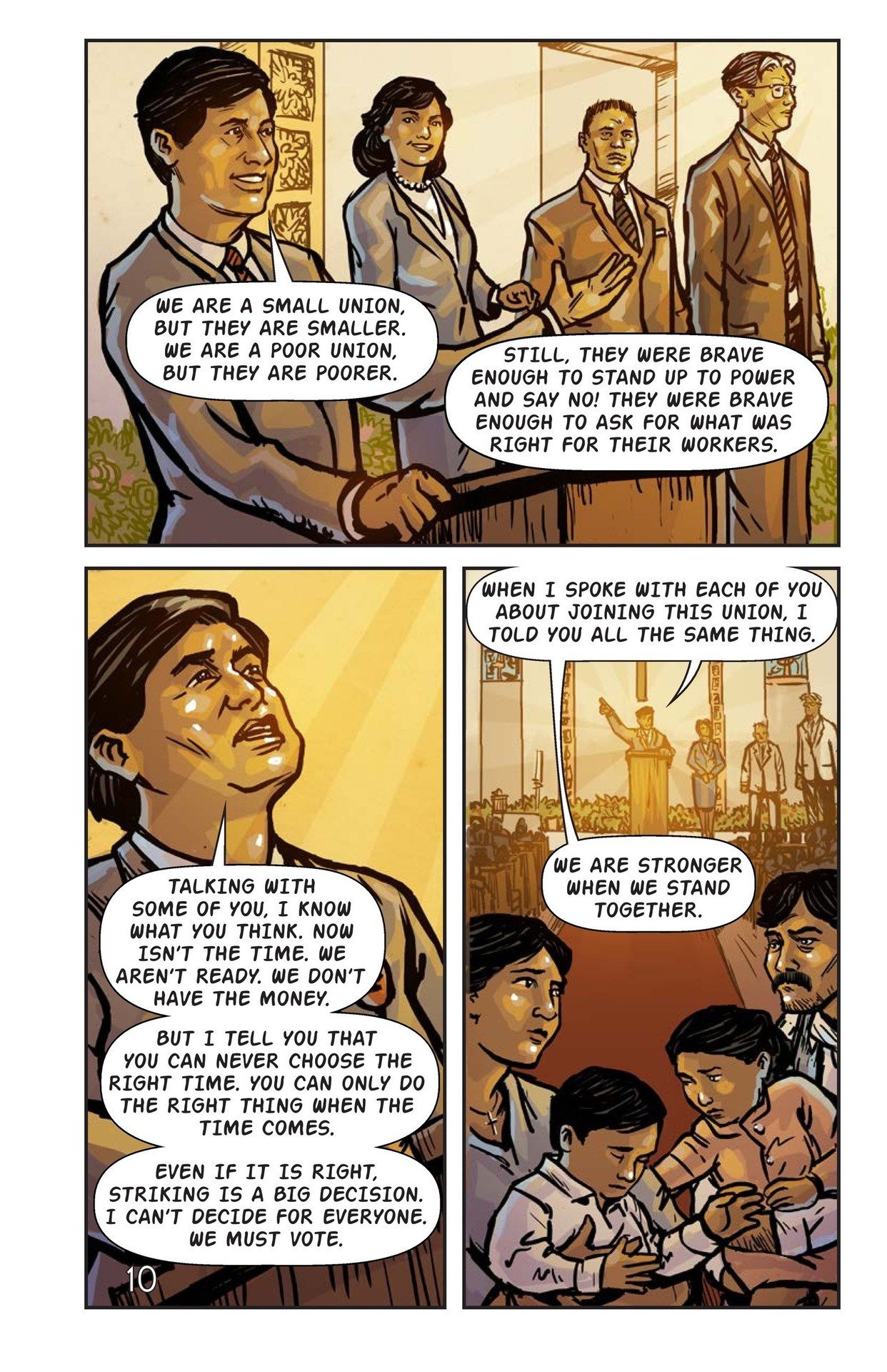 Book Preview For Cesar Chavez and the Delano Grape Strike Page 11
