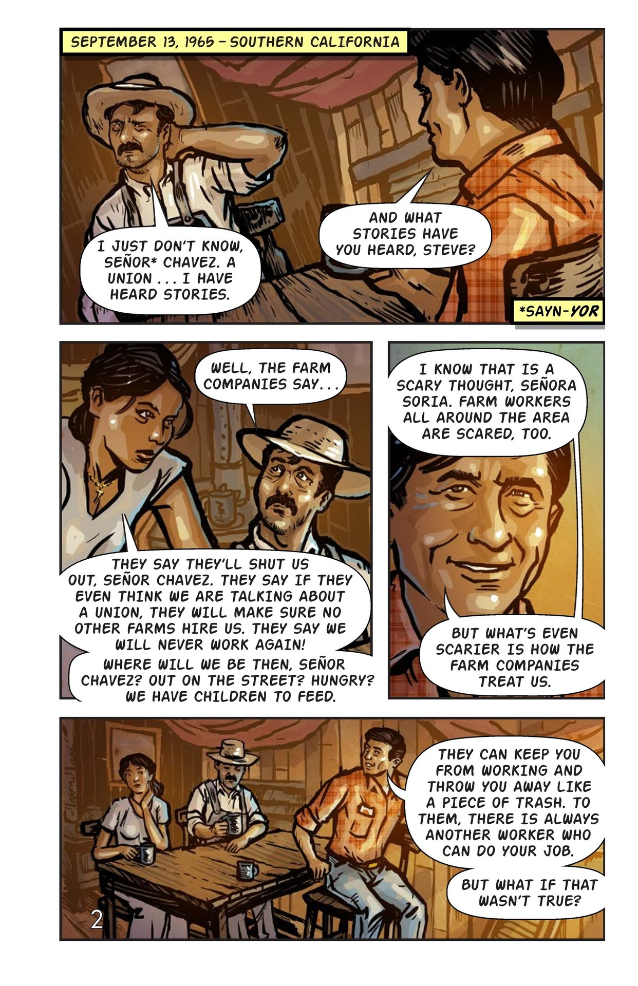 Book Preview For Cesar Chavez and the Delano Grape Strike Page 3