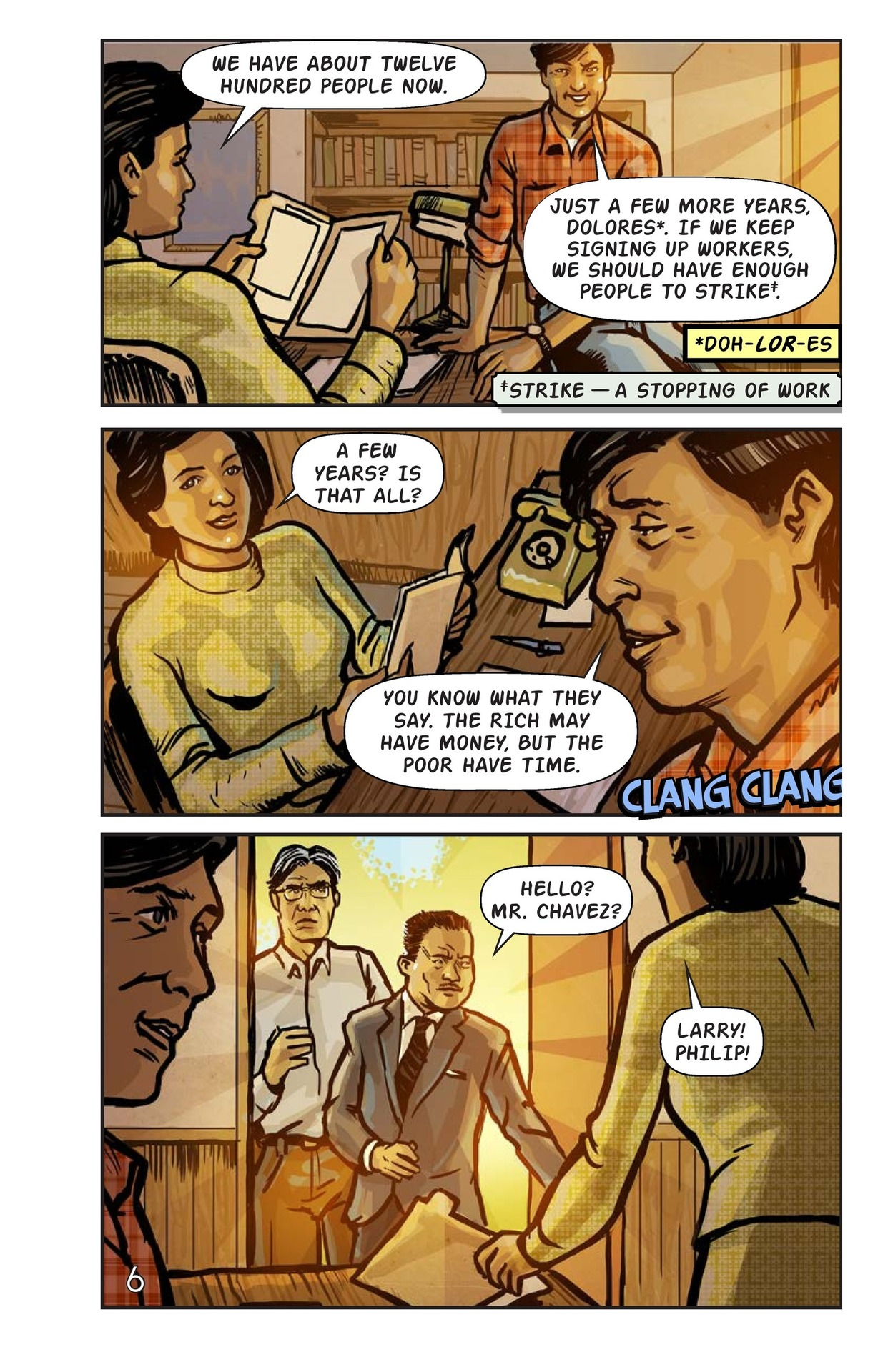 Book Preview For Cesar Chavez and the Delano Grape Strike Page 7
