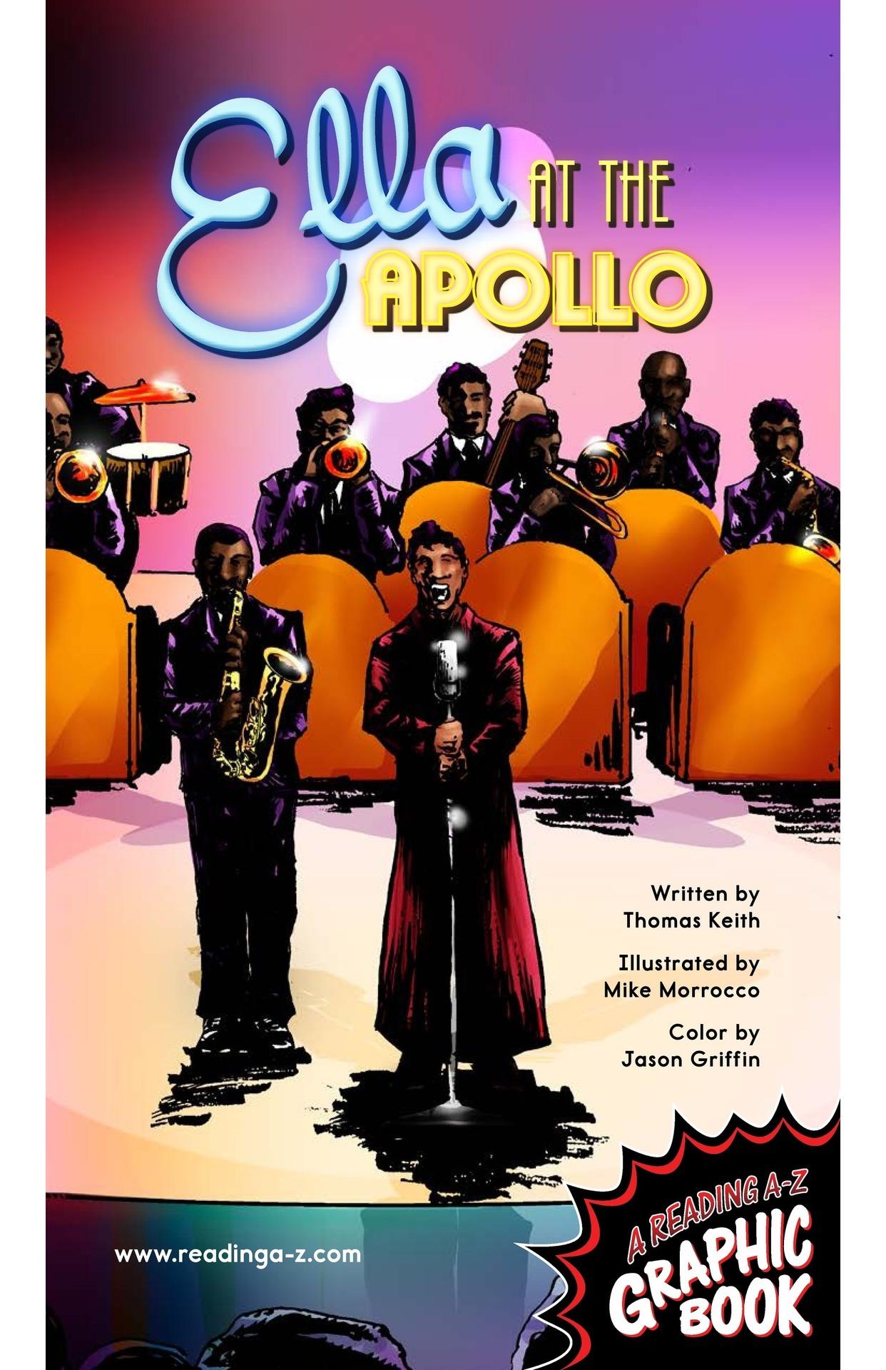 Book Preview For Ella at the Apollo Page 1