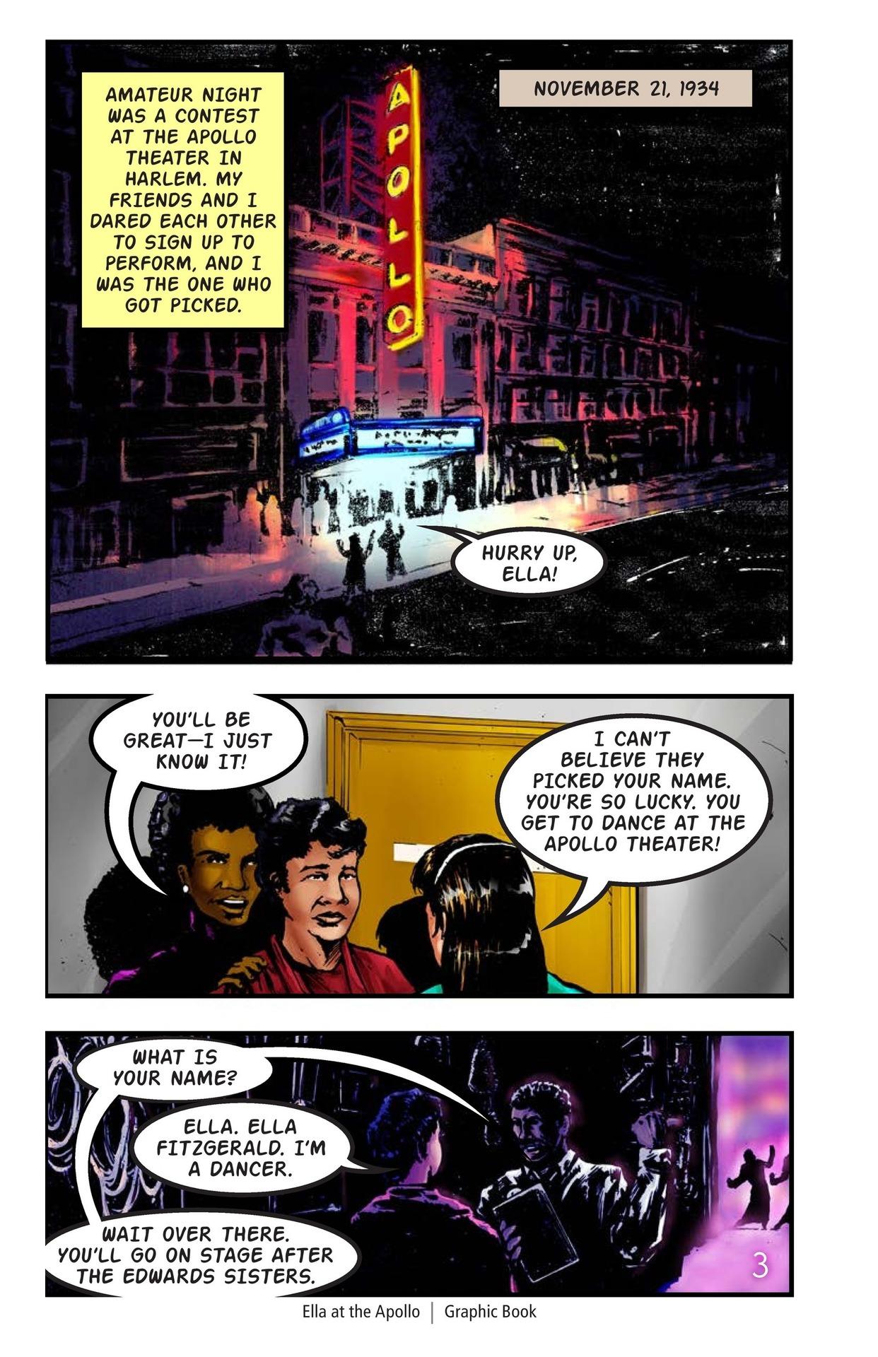 Book Preview For Ella at the Apollo Page 4
