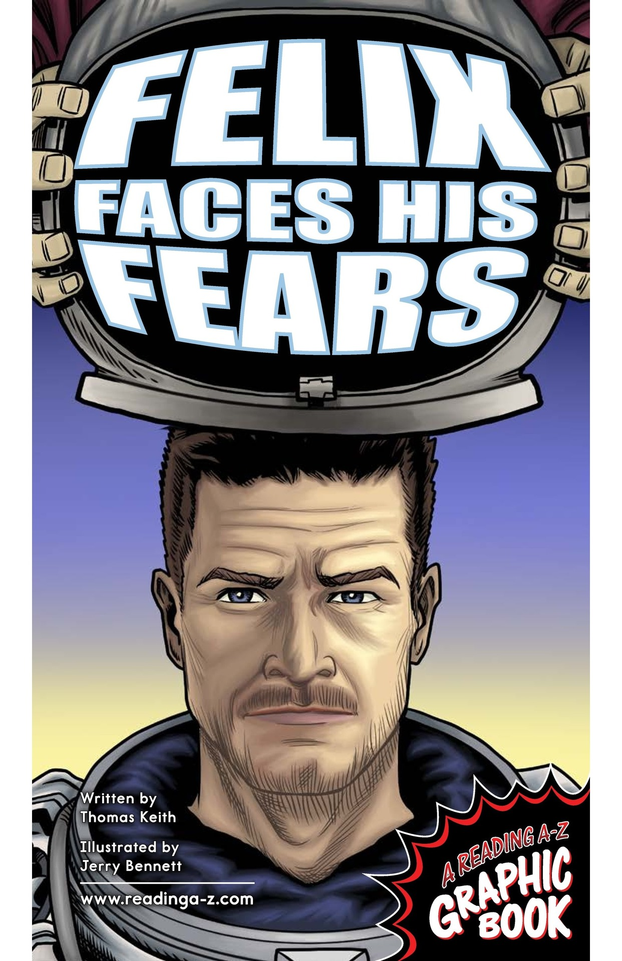 Book Preview For Felix Faces His Fears Page 1