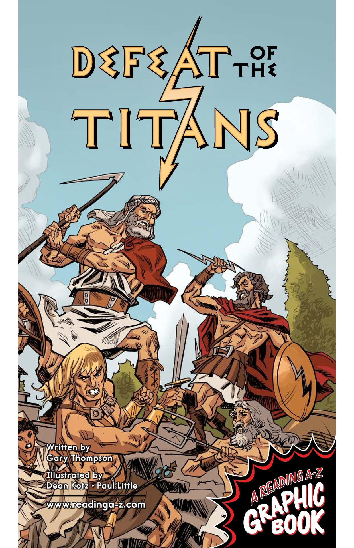 Book Preview For Defeat of the Titans Page 1