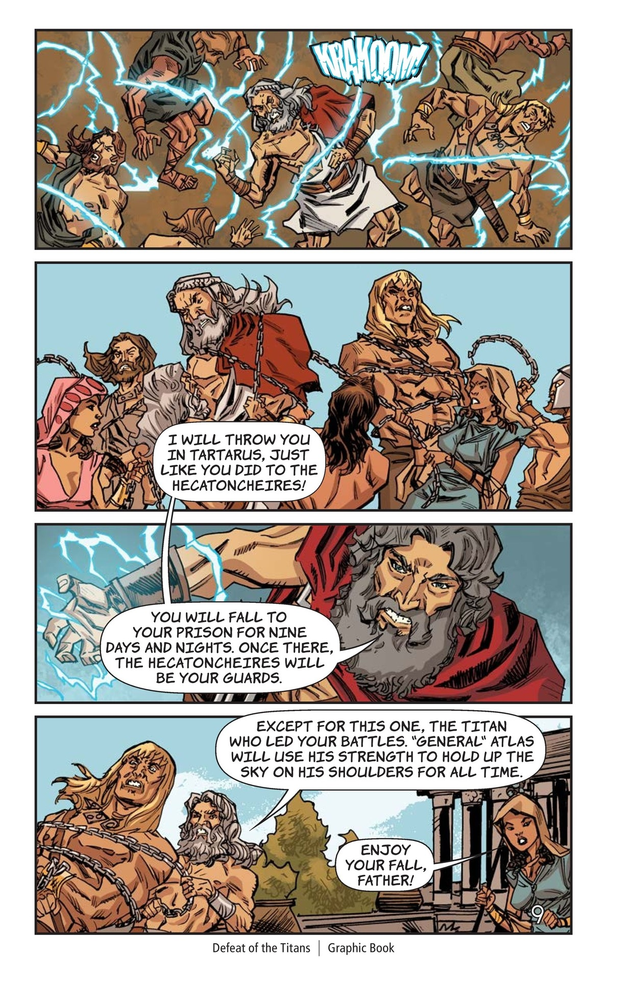 Book Preview For Defeat of the Titans Page 10