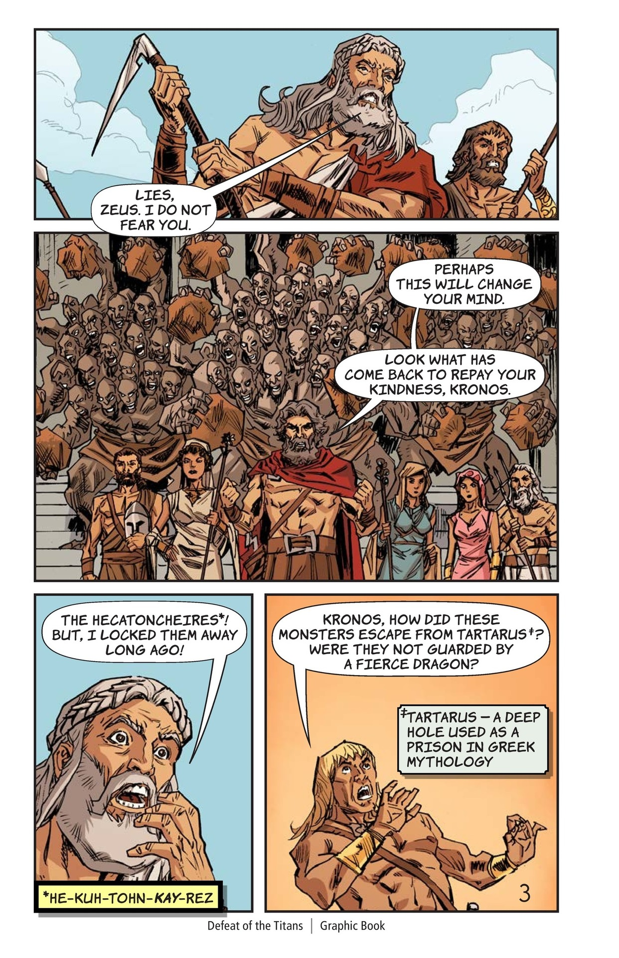 Book Preview For Defeat of the Titans Page 4