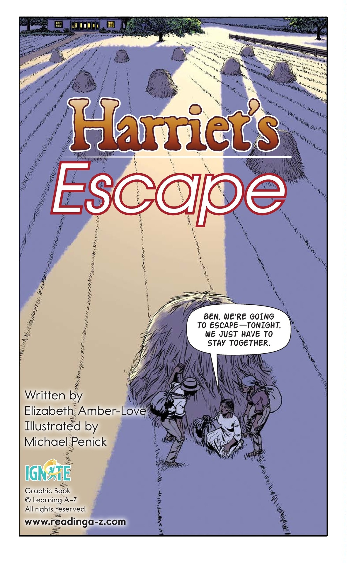 Book Preview For Harriet's Escape Page 2