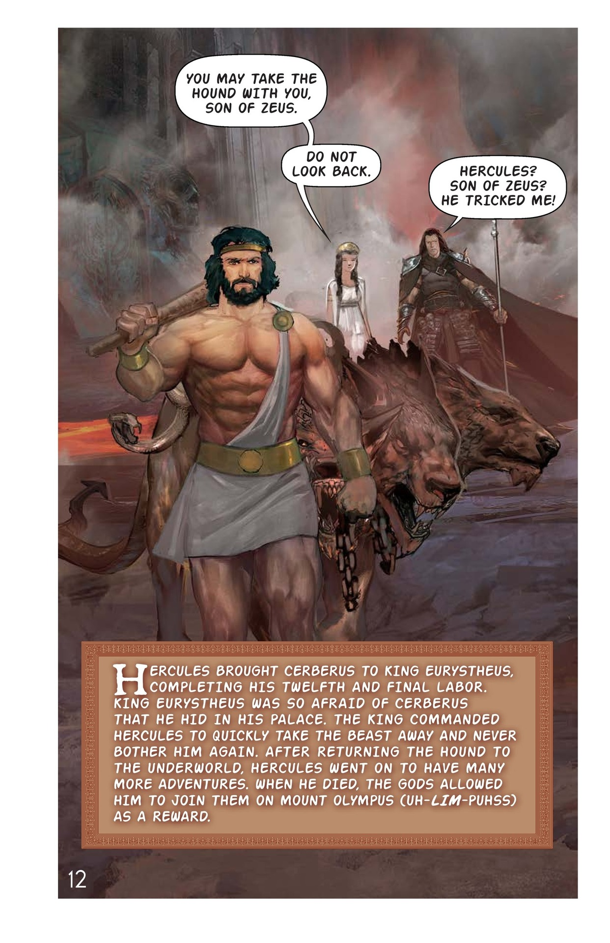 Book Preview For Hercules and the Hound of Hades Page 13