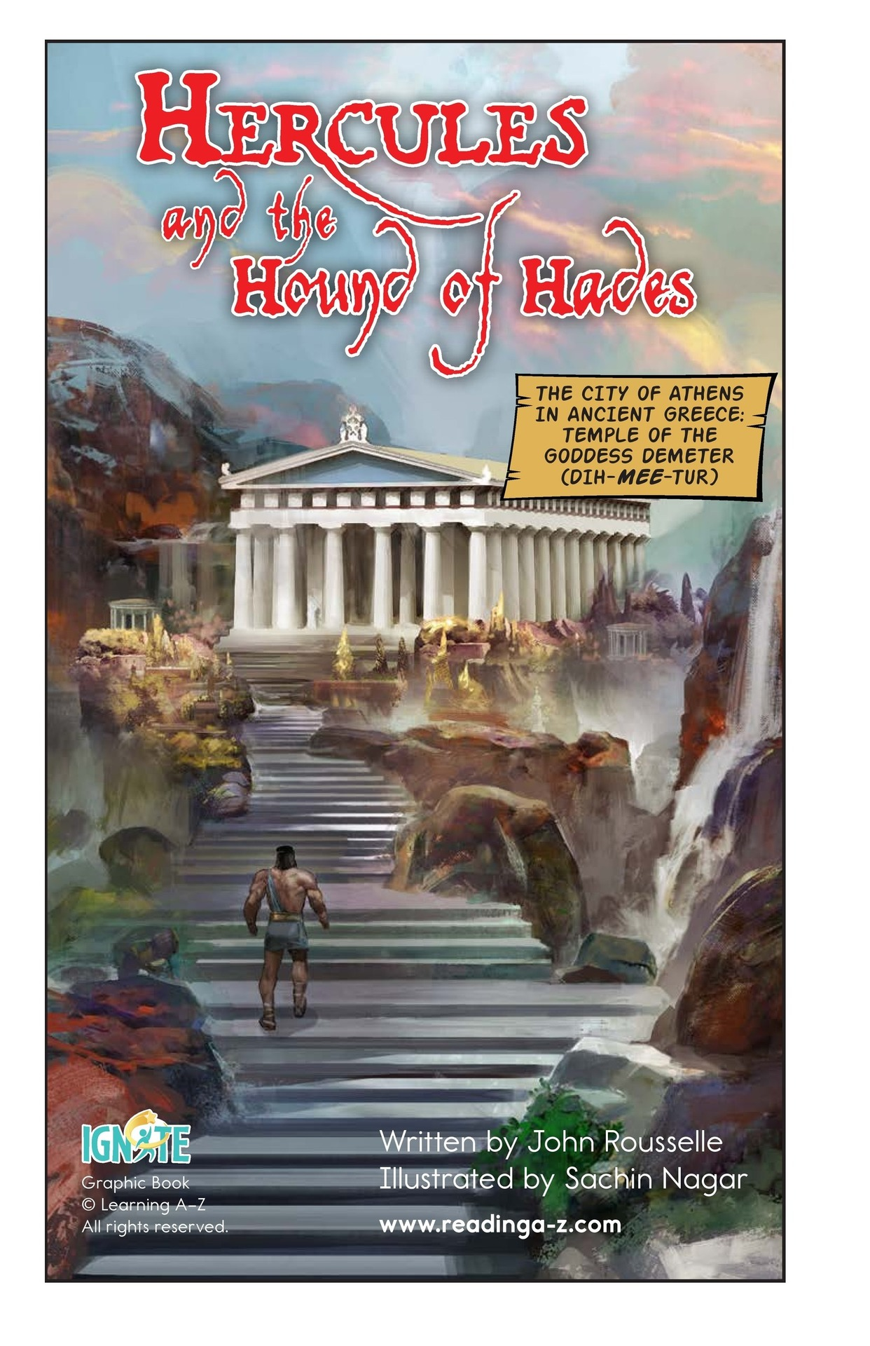Book Preview For Hercules and the Hound of Hades Page 2