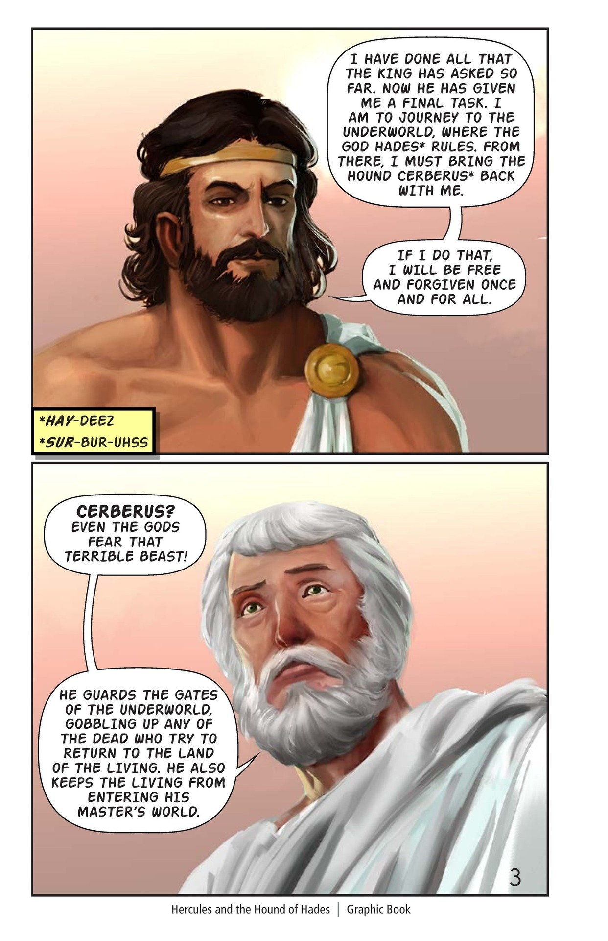 Book Preview For Hercules and the Hound of Hades Page 4