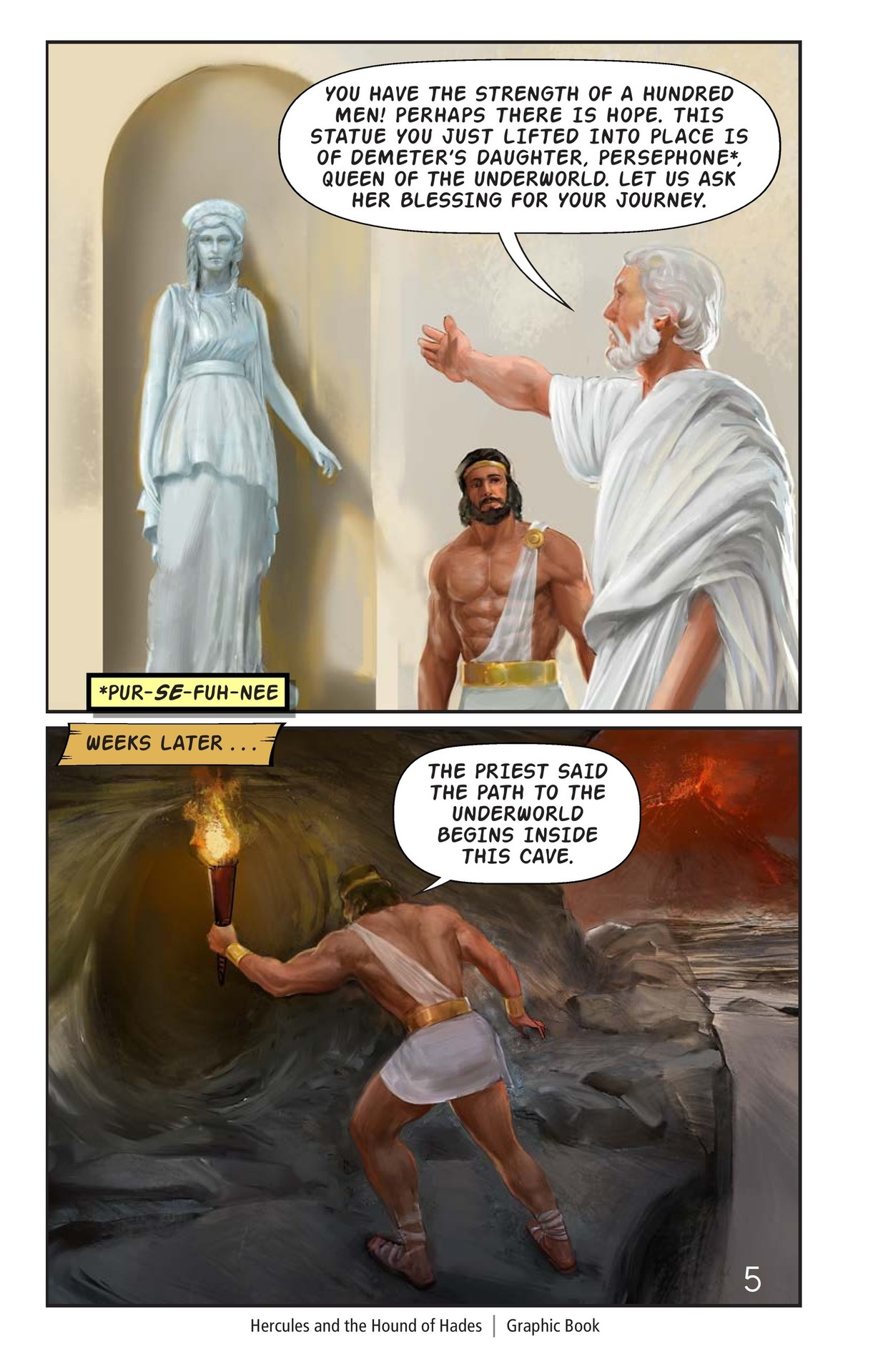 Book Preview For Hercules and the Hound of Hades Page 6