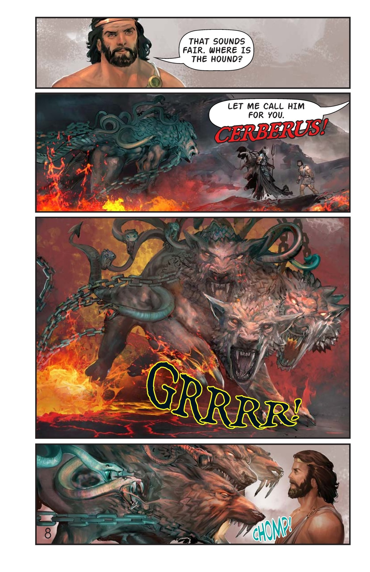 Book Preview For Hercules and the Hound of Hades Page 9