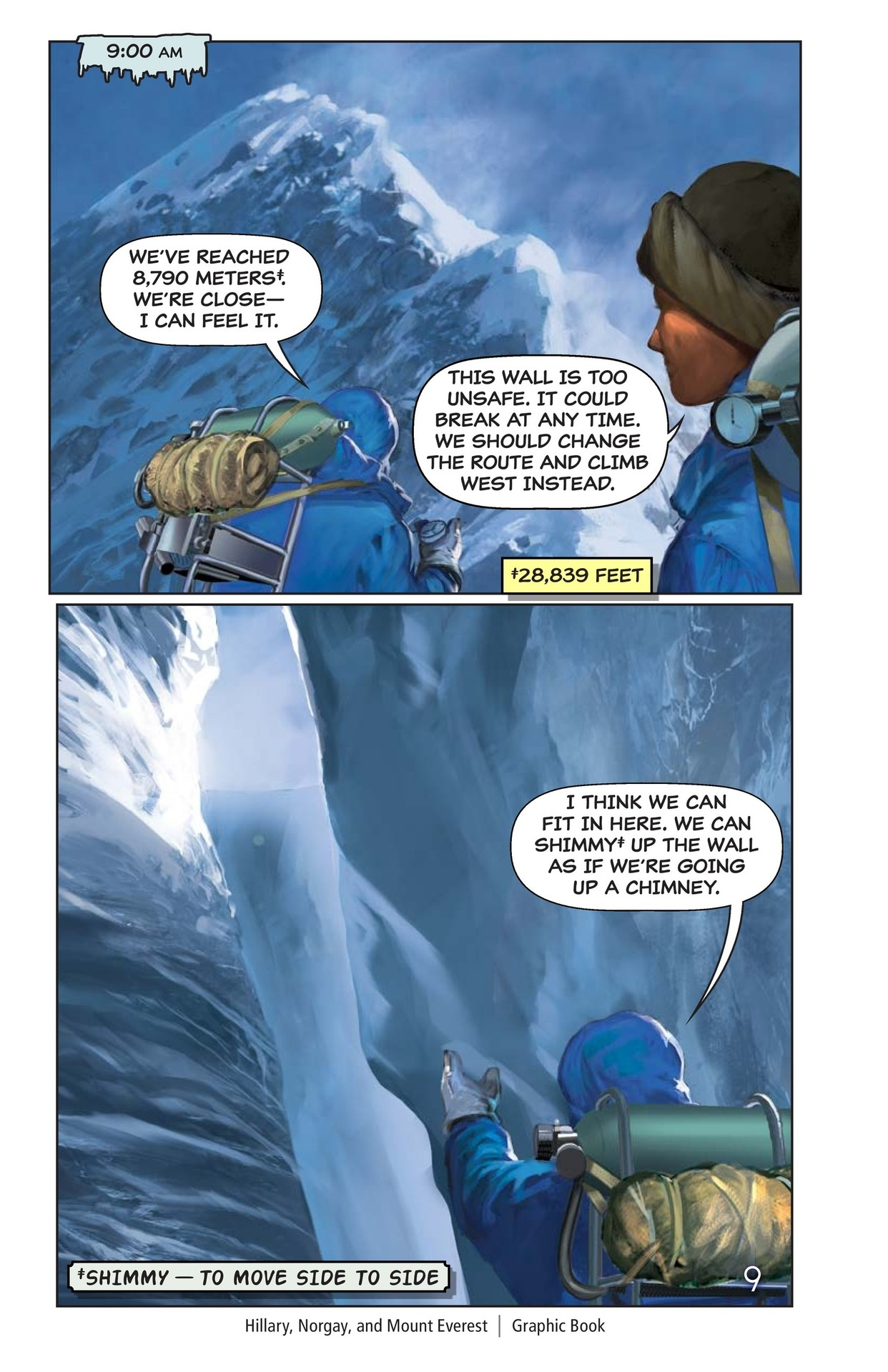 Book Preview For Hilary, Norgay, and Mount Everest Page 10