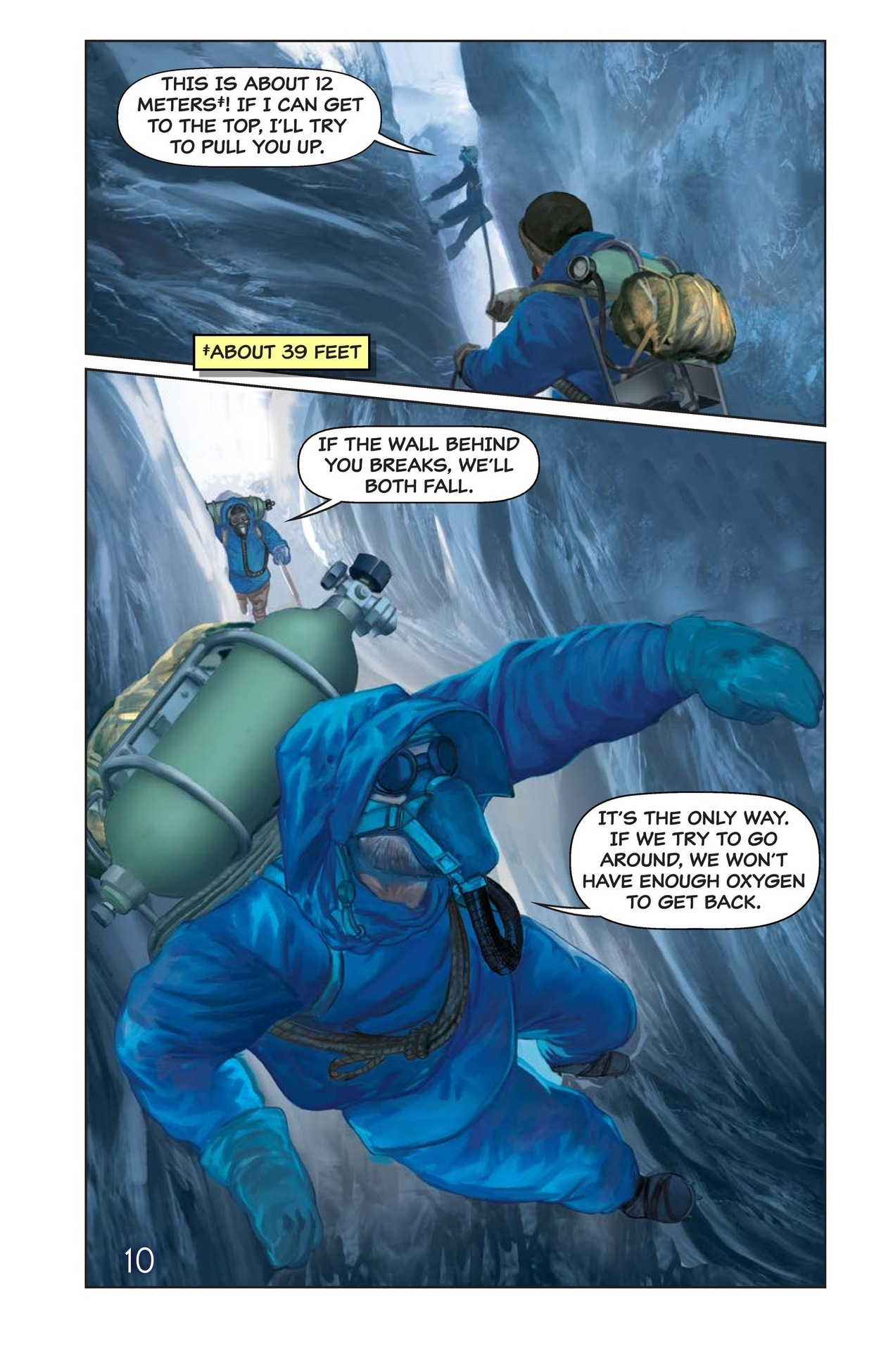 Book Preview For Hilary, Norgay, and Mount Everest Page 11