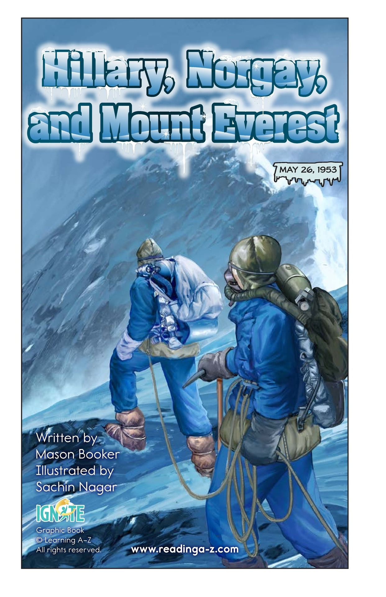 Book Preview For Hilary, Norgay, and Mount Everest Page 2
