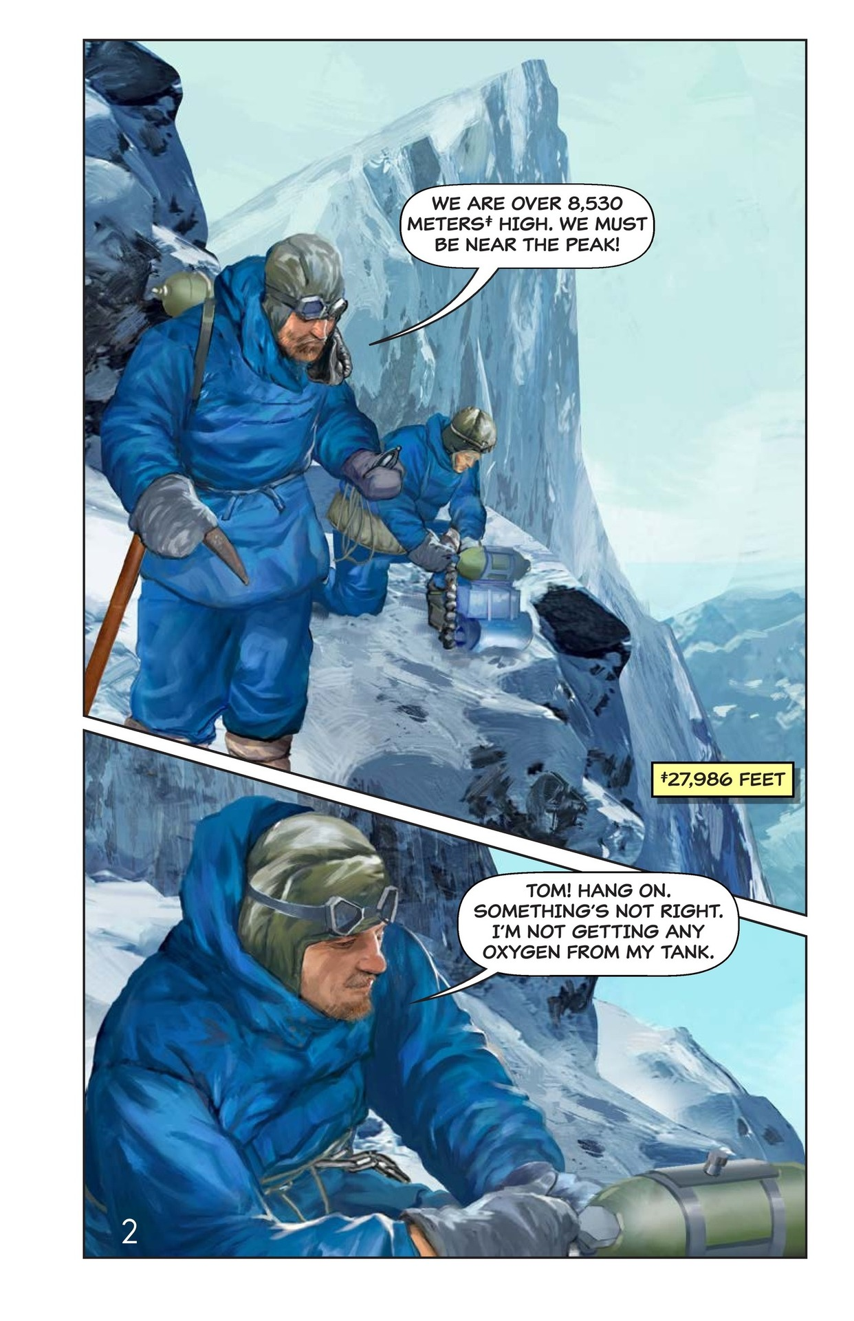Book Preview For Hilary, Norgay, and Mount Everest Page 3