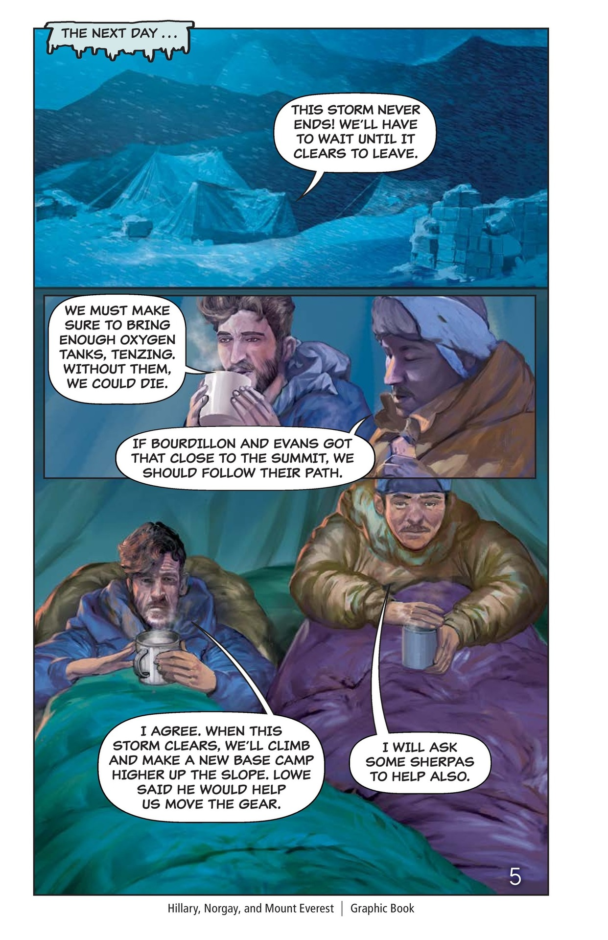 Book Preview For Hilary, Norgay, and Mount Everest Page 6