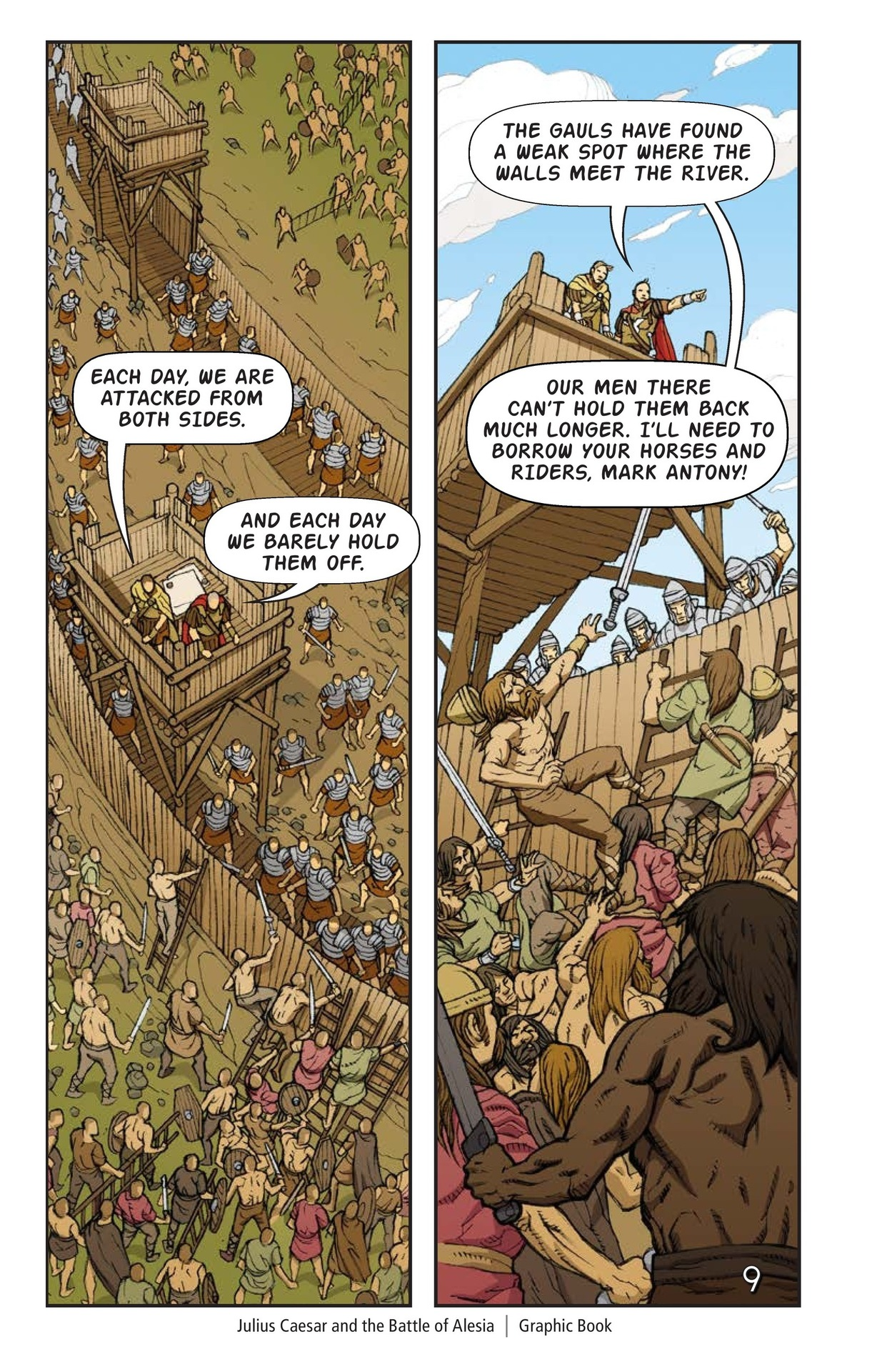 Book Preview For Julius Caesar and the Battle of Alesia Page 10