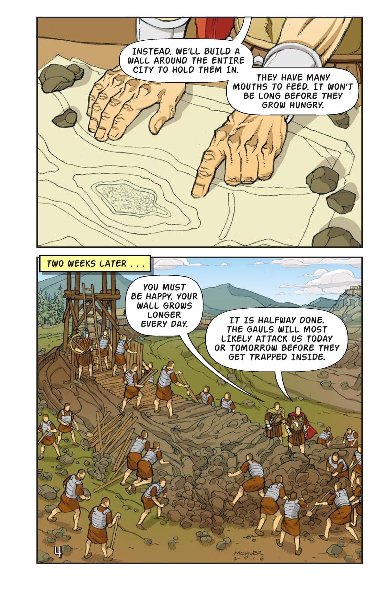 Book Preview For Julius Caesar and the Battle of Alesia Page 5