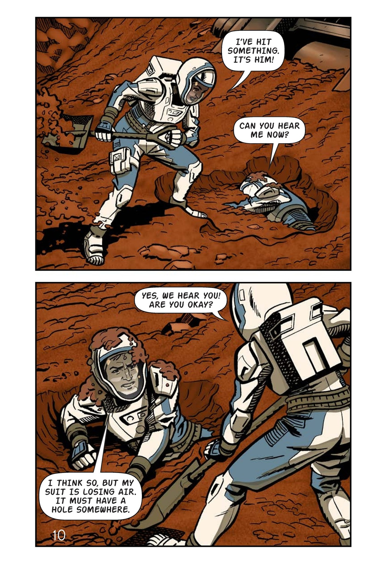 Book Preview For Just Another Day on Mars Page 11