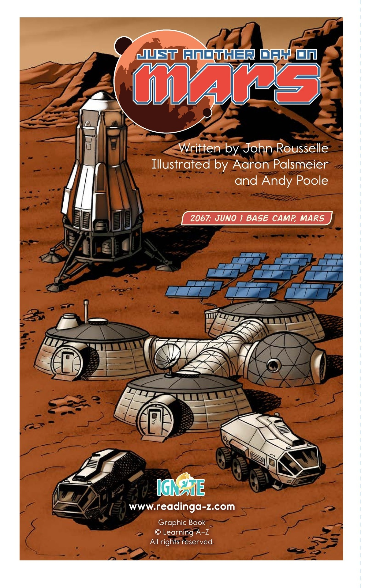 Book Preview For Just Another Day on Mars Page 2