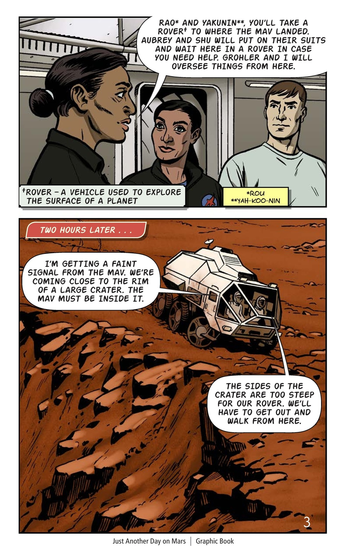 Book Preview For Just Another Day on Mars Page 4