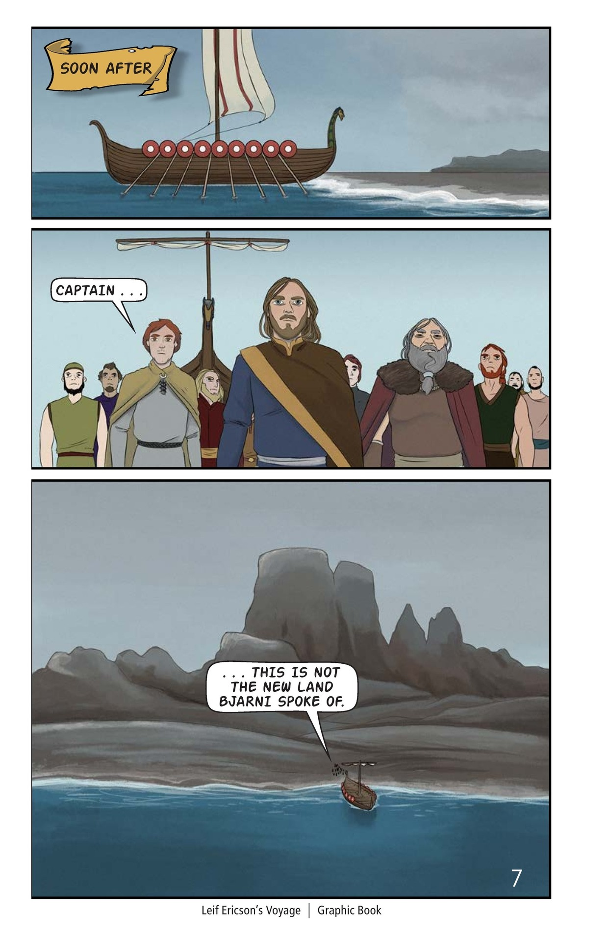 Book Preview For Leif Ericson's Voyage Page 8