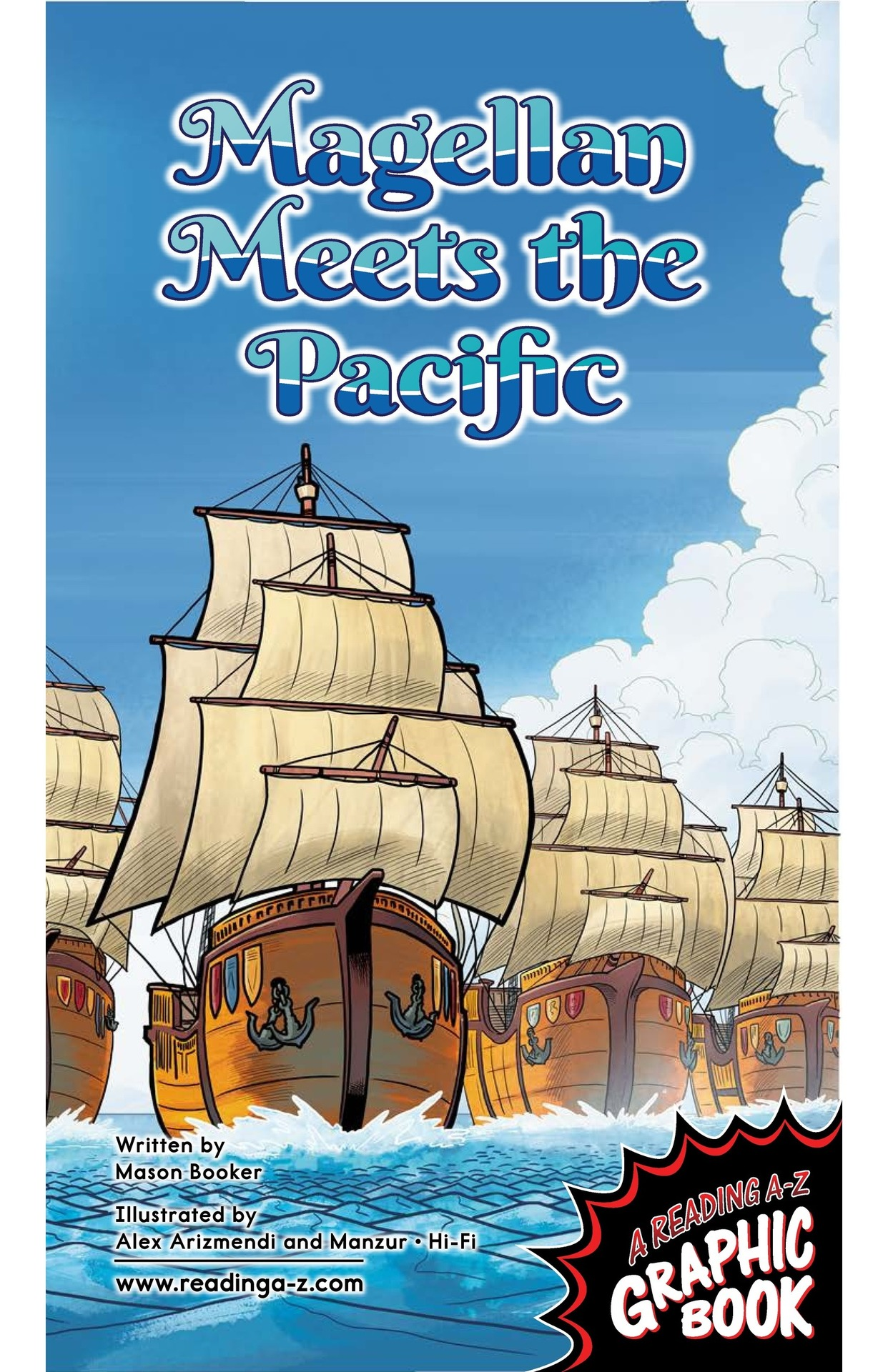 Book Preview For Magellan Meets the Pacific Page 1