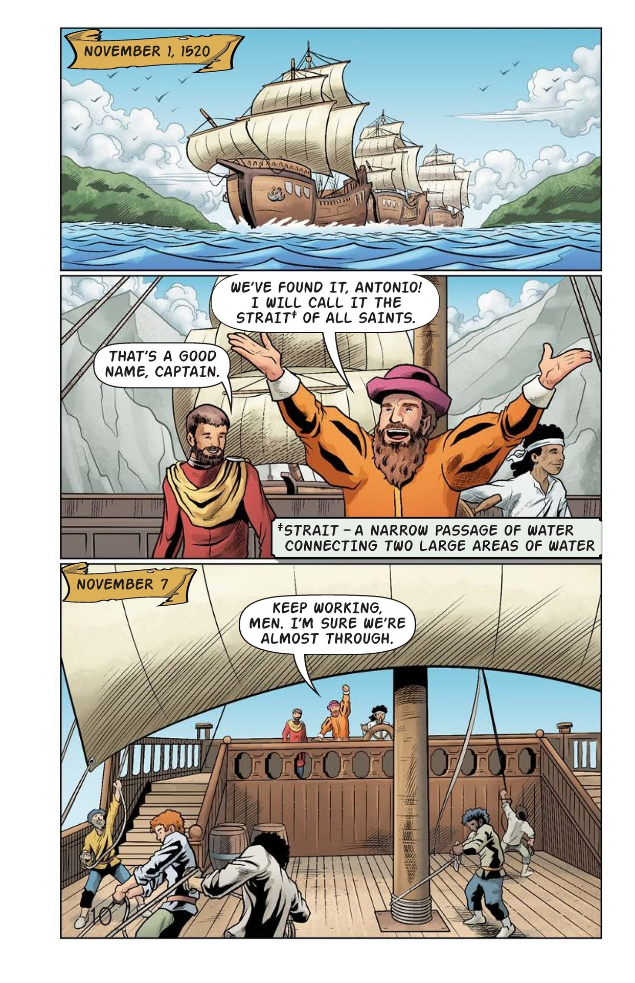 Book Preview For Magellan Meets the Pacific Page 11