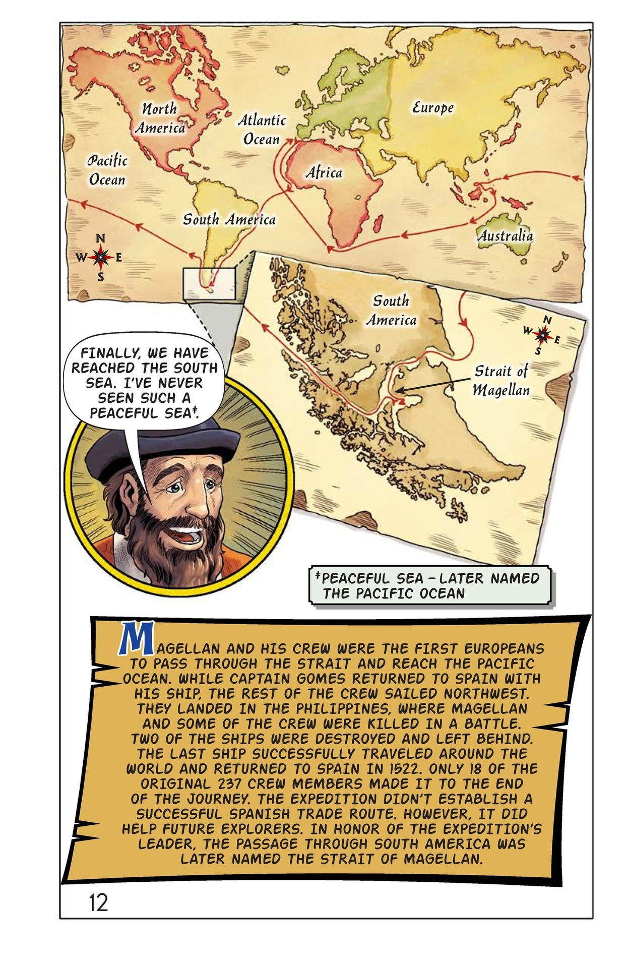 Book Preview For Magellan Meets the Pacific Page 13