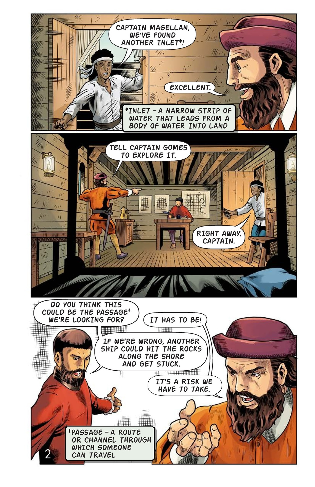 Book Preview For Magellan Meets the Pacific Page 3