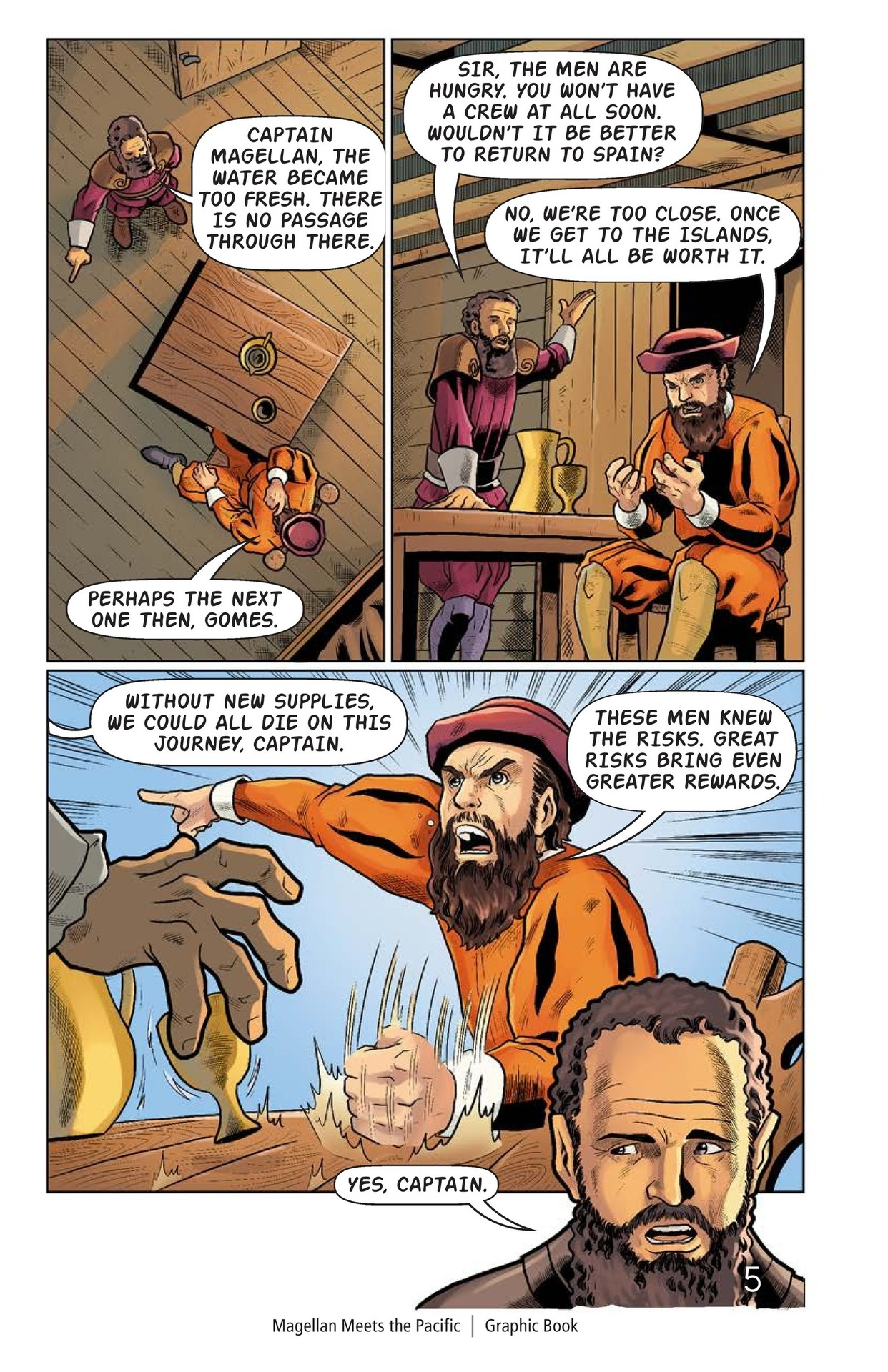 Book Preview For Magellan Meets the Pacific Page 6