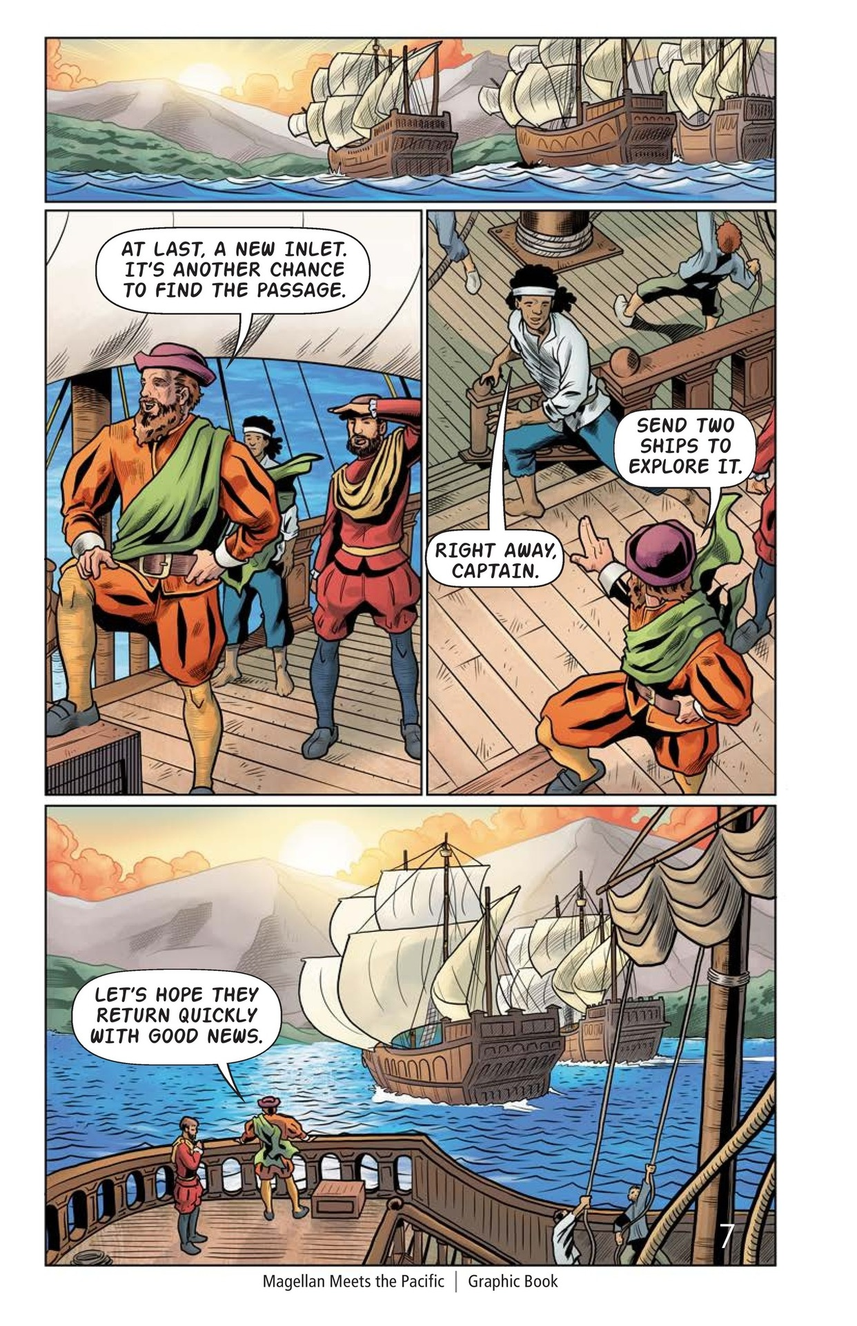 Book Preview For Magellan Meets the Pacific Page 8