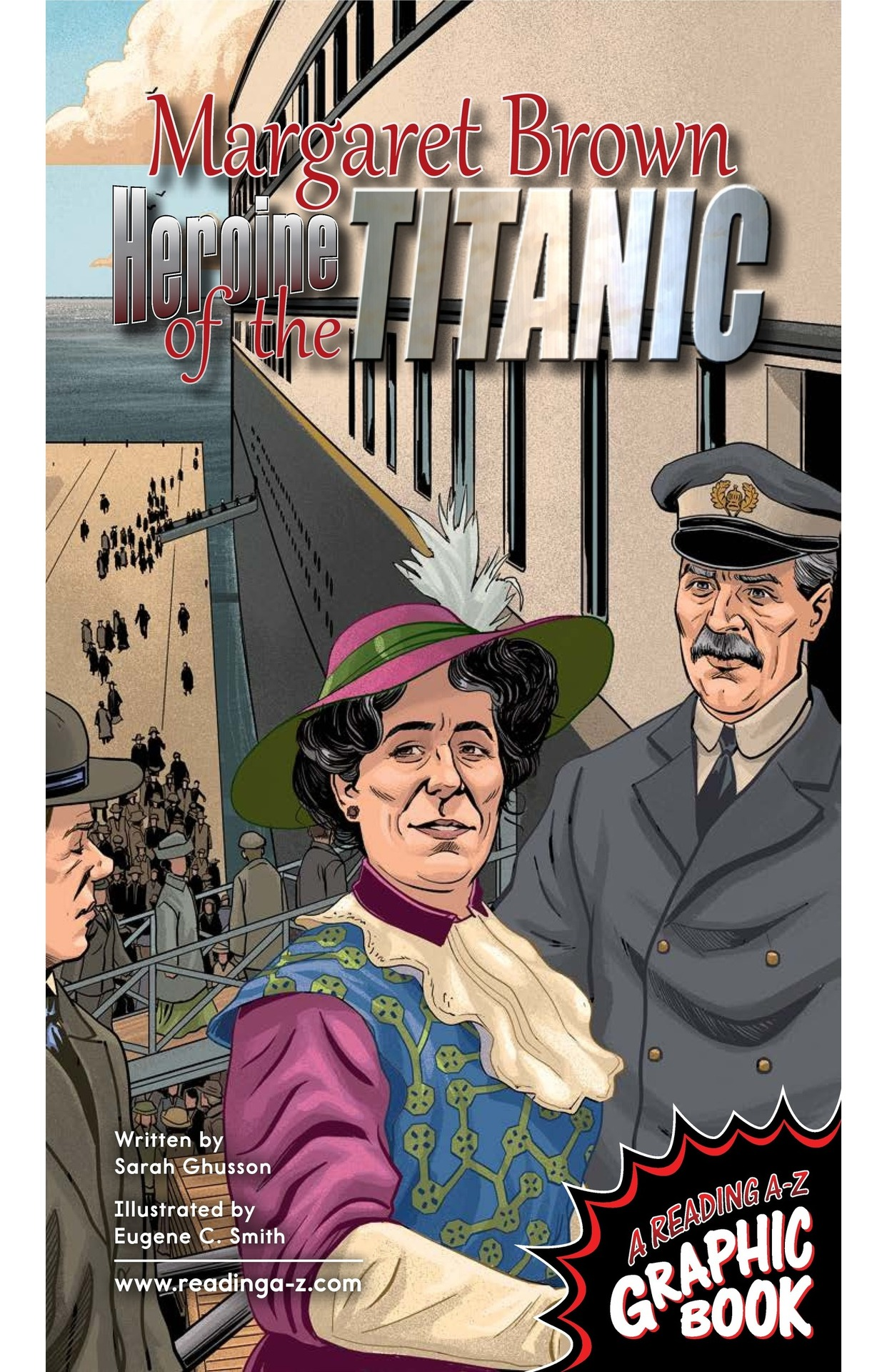Book Preview For Margaret Brown: Heroine of the Titanic Page 1