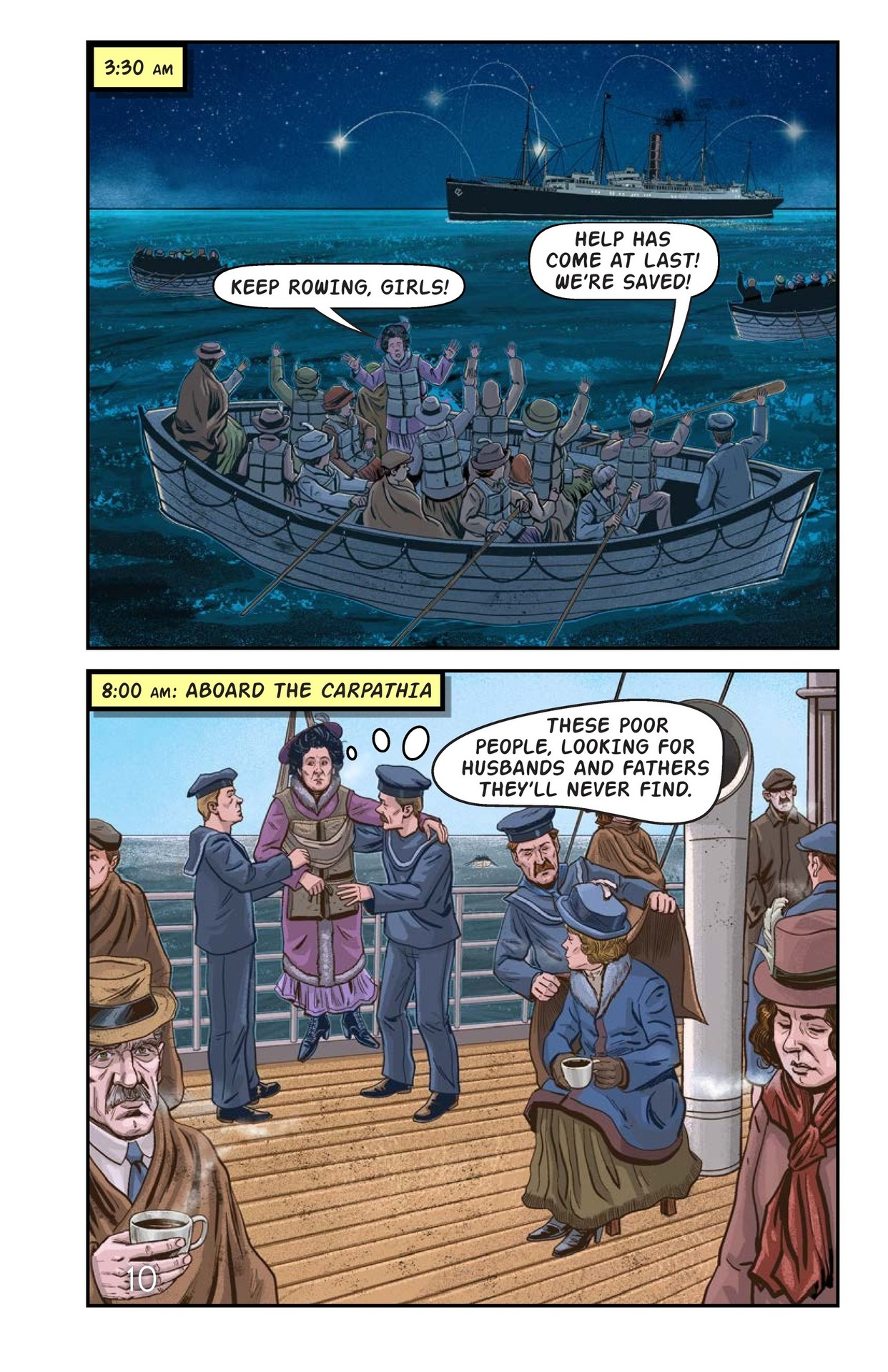 Book Preview For Margaret Brown: Heroine of the Titanic Page 11