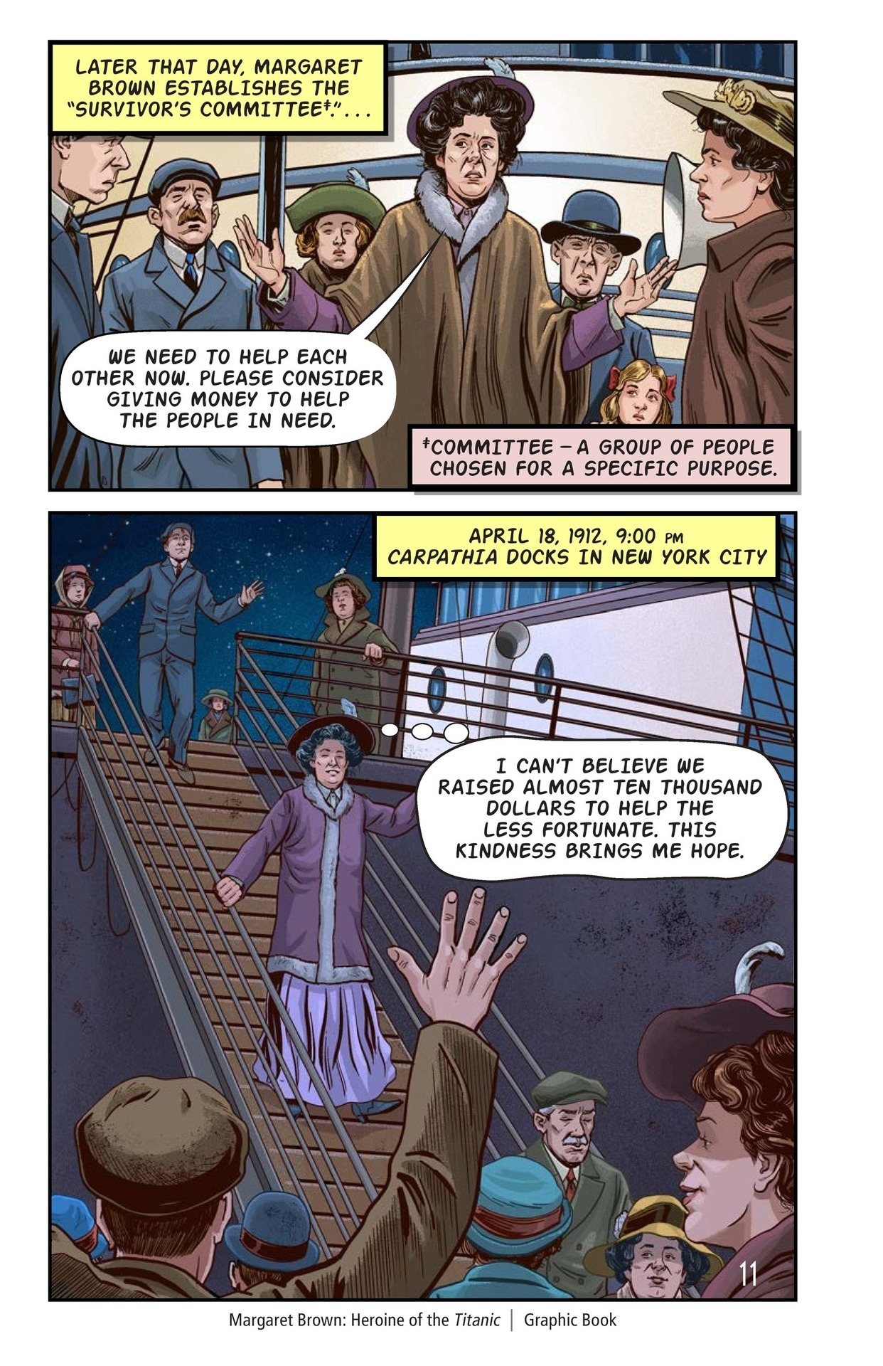 Book Preview For Margaret Brown: Heroine of the Titanic Page 12