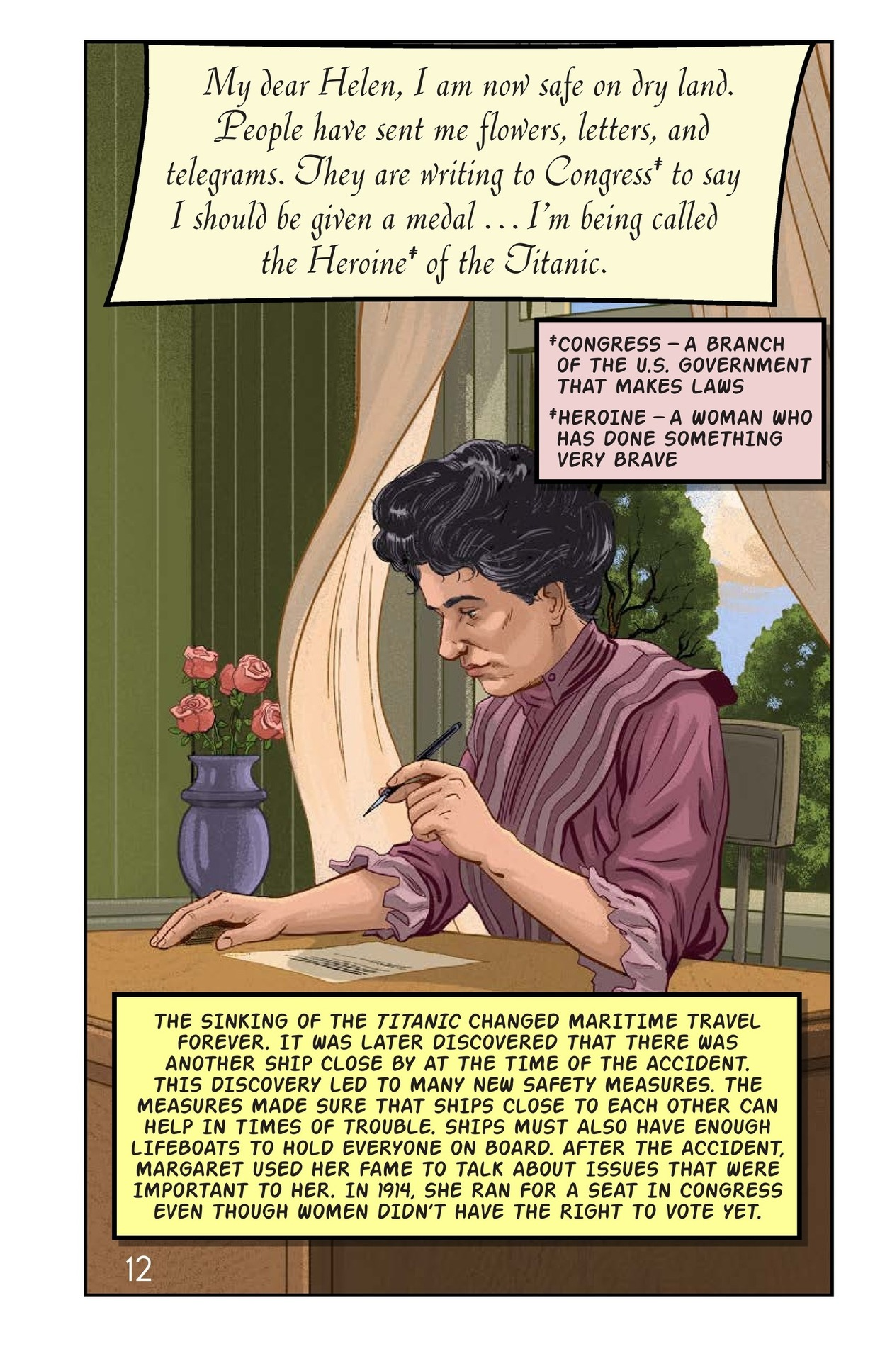 Book Preview For Margaret Brown: Heroine of the Titanic Page 13