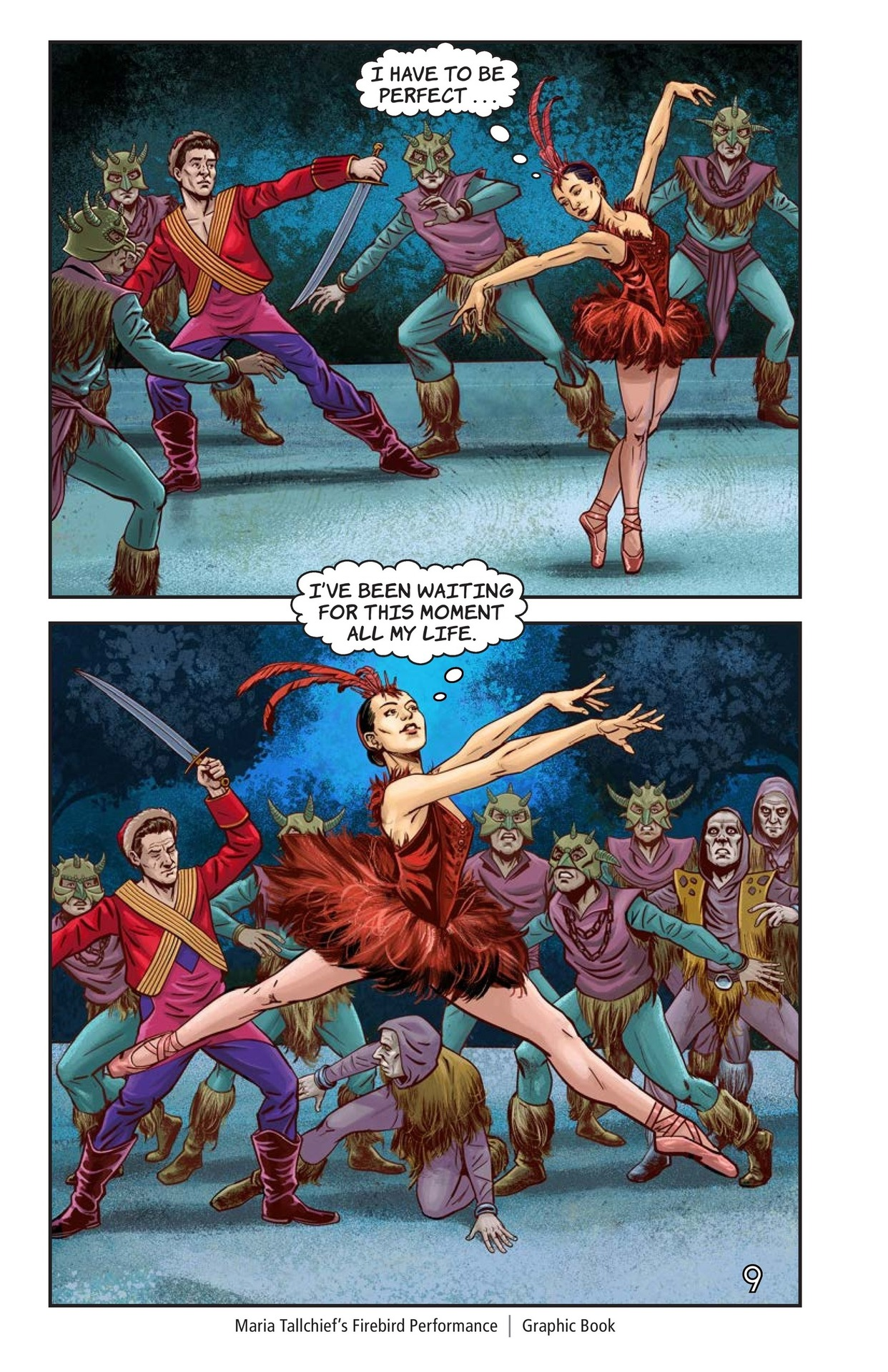 Book Preview For Maria Tallchief's Firebird Performance Page 10